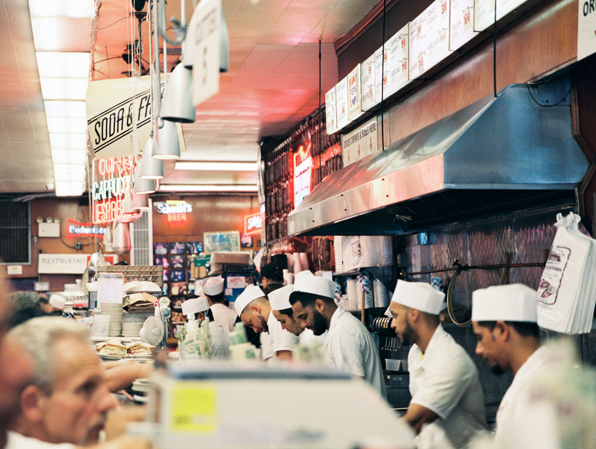 Katz's Deli. Seriously the best sandwiches ever. If you go to New York, you have to plan a meal at Katz's!