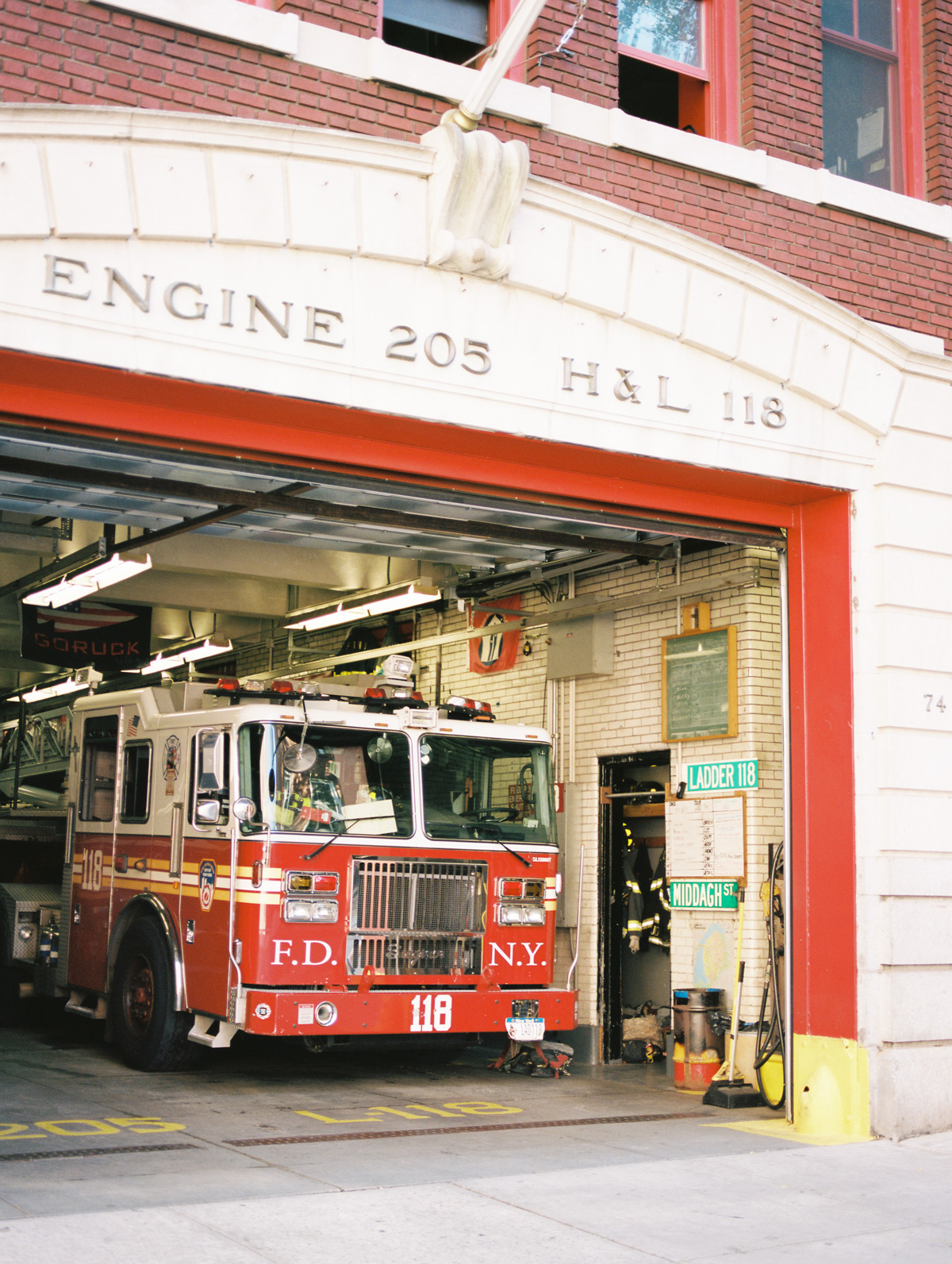New York City Fire Department | Fire Station in Brooklyn heights