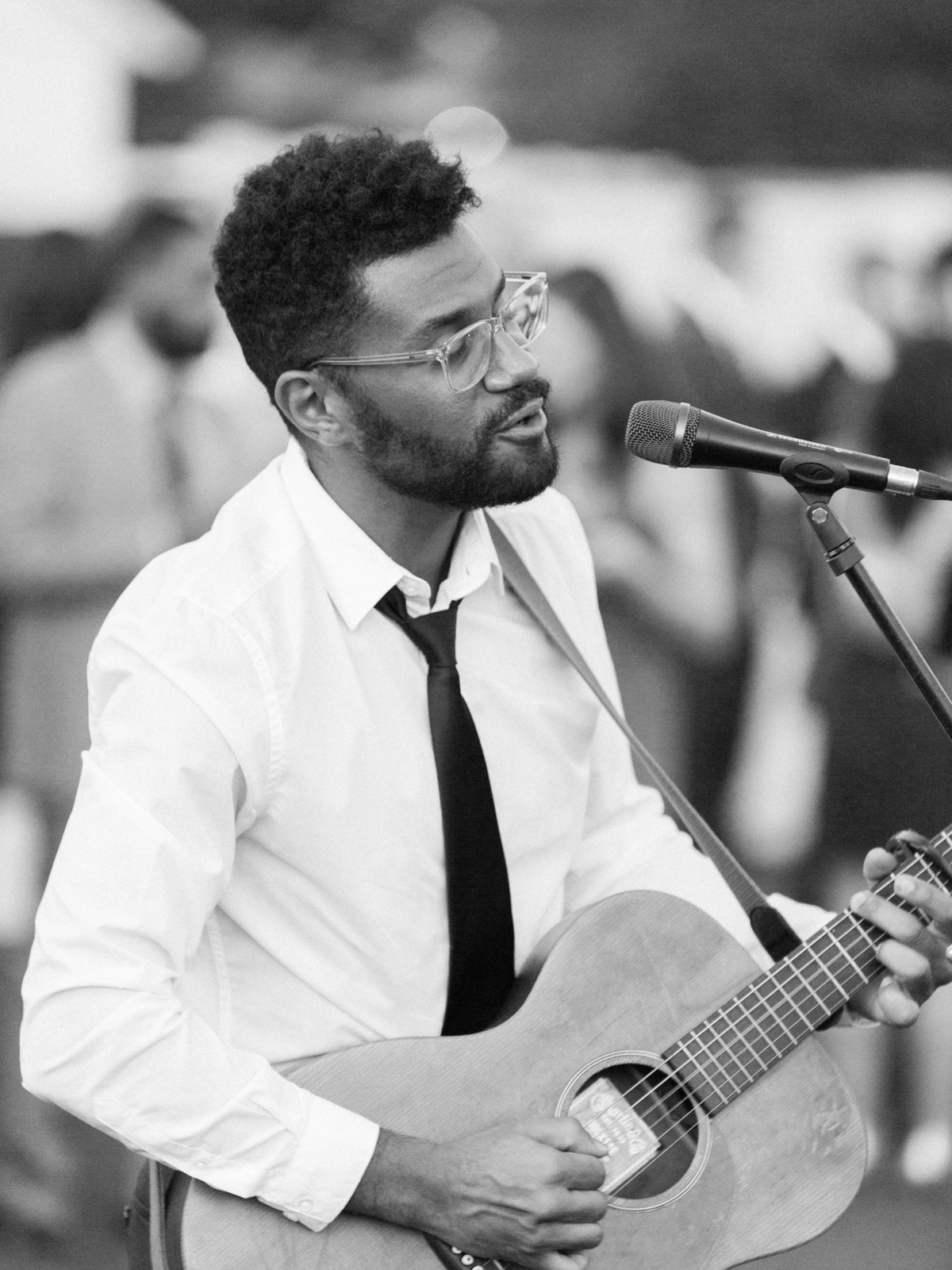 Kwesi, amazing wedding musician