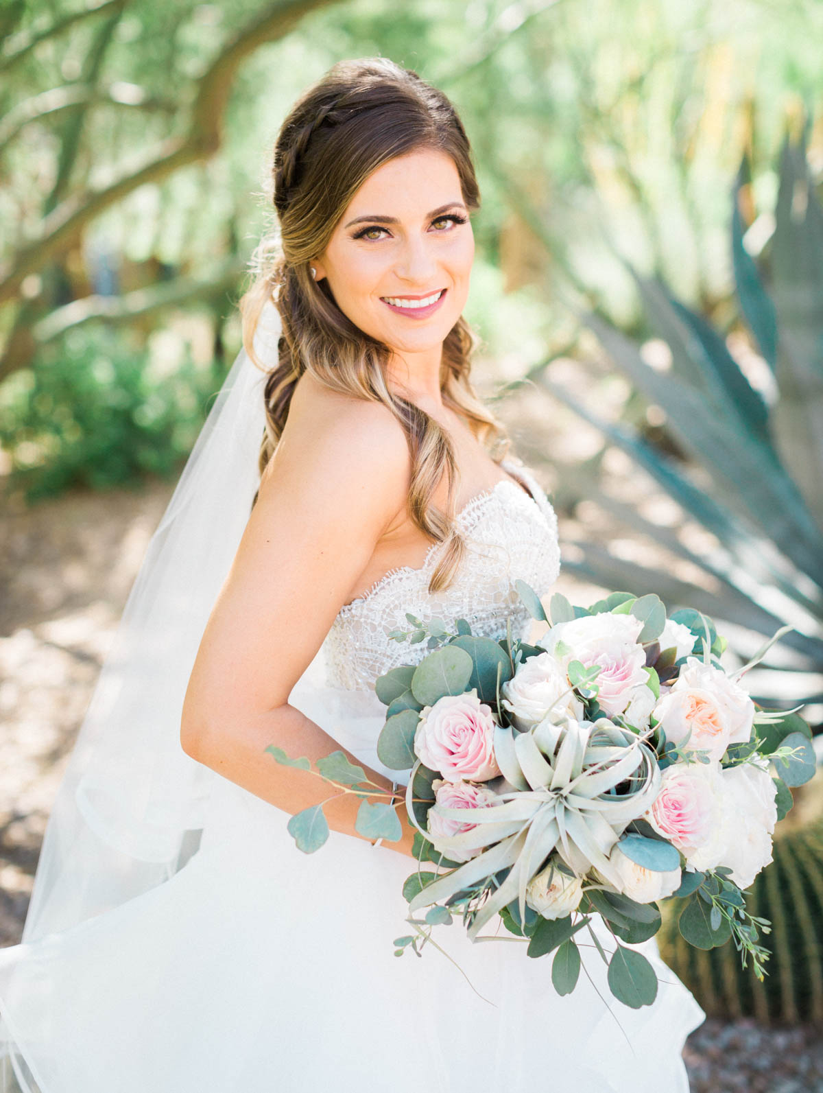 Beautiful bride captured by Tucson Wedding Photographers Betsy & John