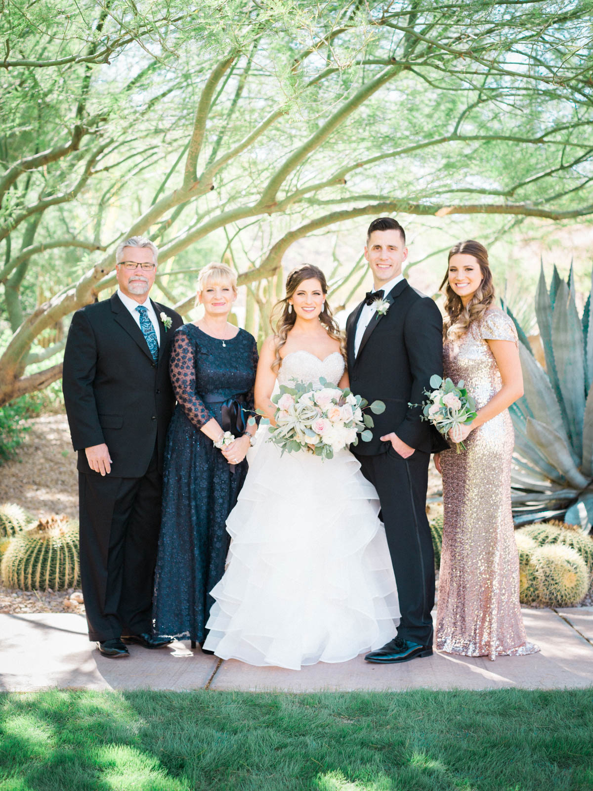 Family Photos captured by Tucson Wedding Photographers Betsy & John