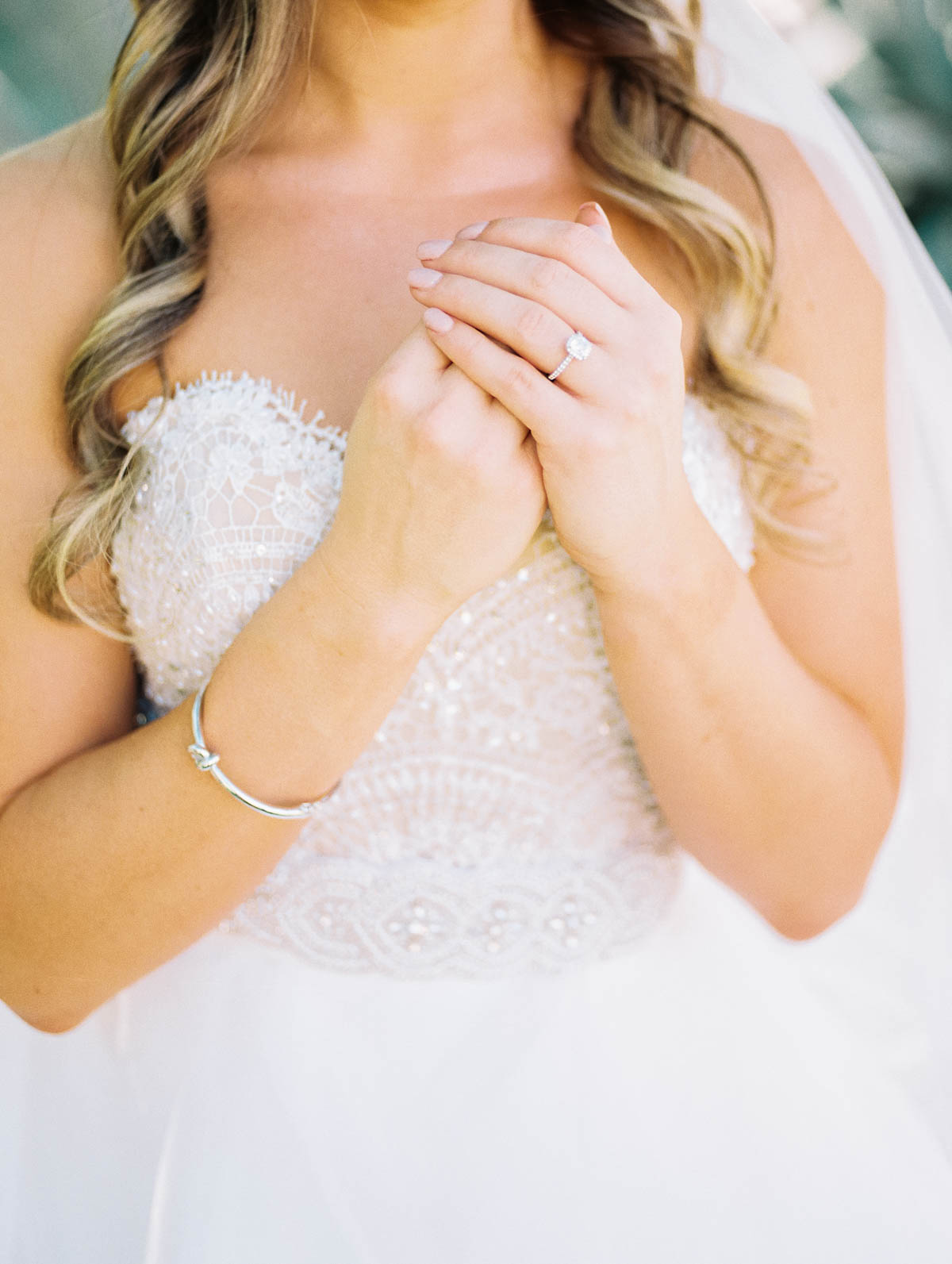 Gorgeous gown from J Bridal Boutique captured by Tucson Wedding Photographers Betsy & John