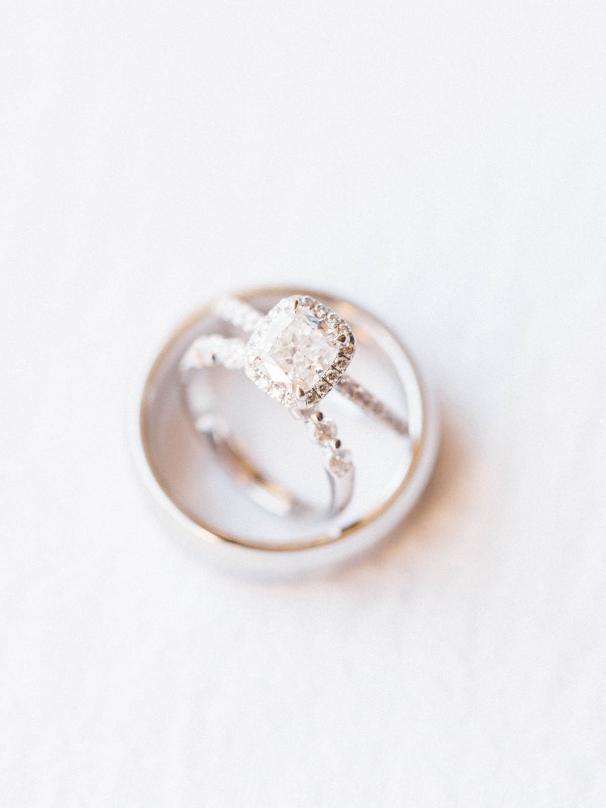 Ring shot captured by Tucson Wedding Photographers Betsy & John