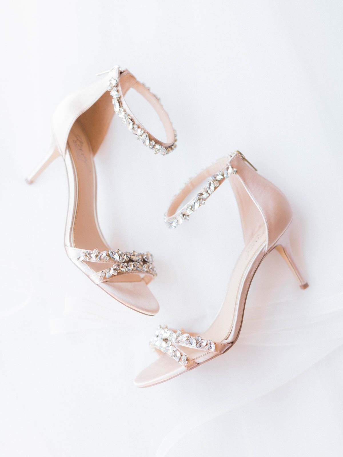 stunning bridal shoes captured by Tucson Wedding Photographers Betsy & John