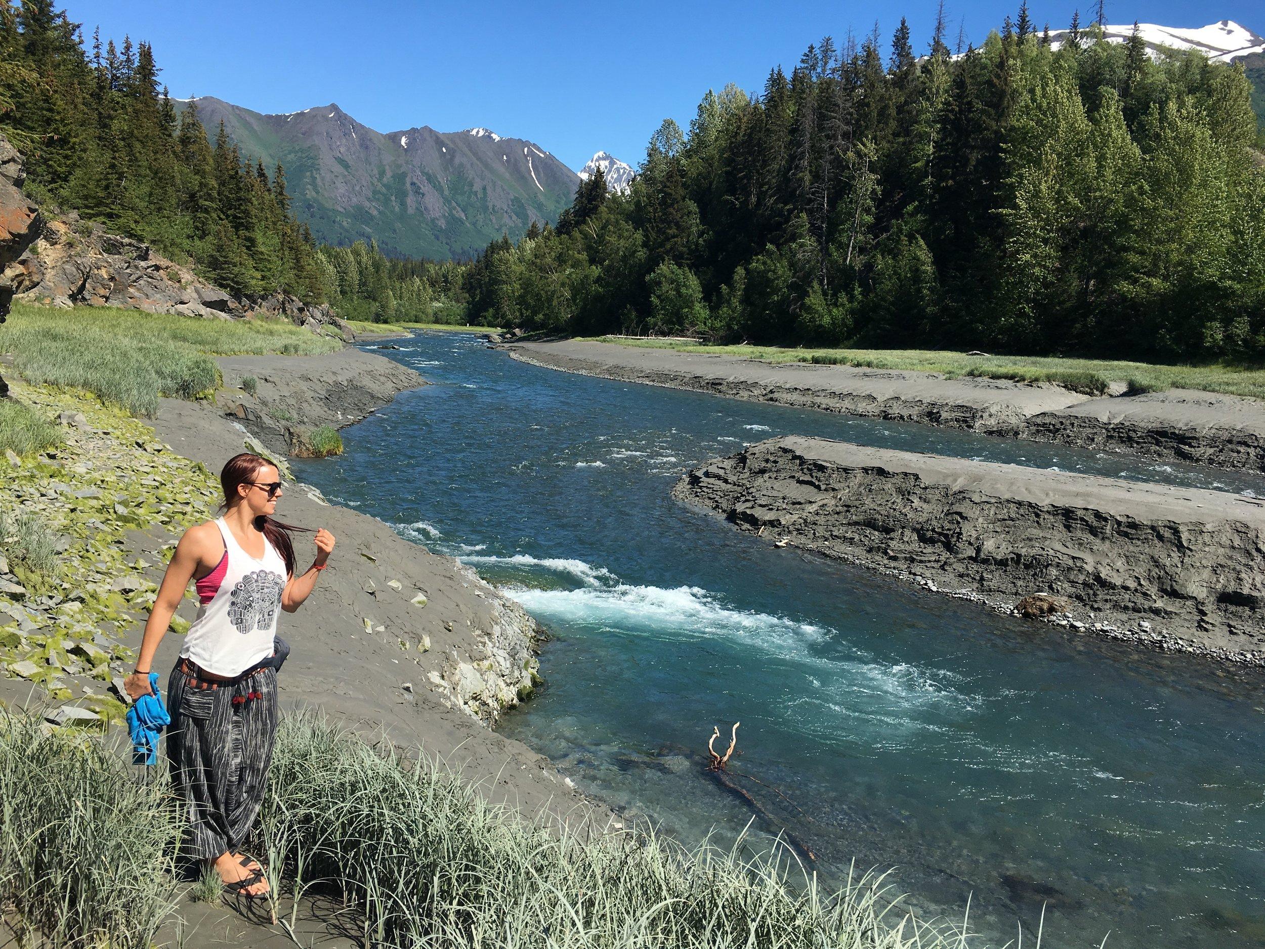Just another beautiful Alaskan scenery.