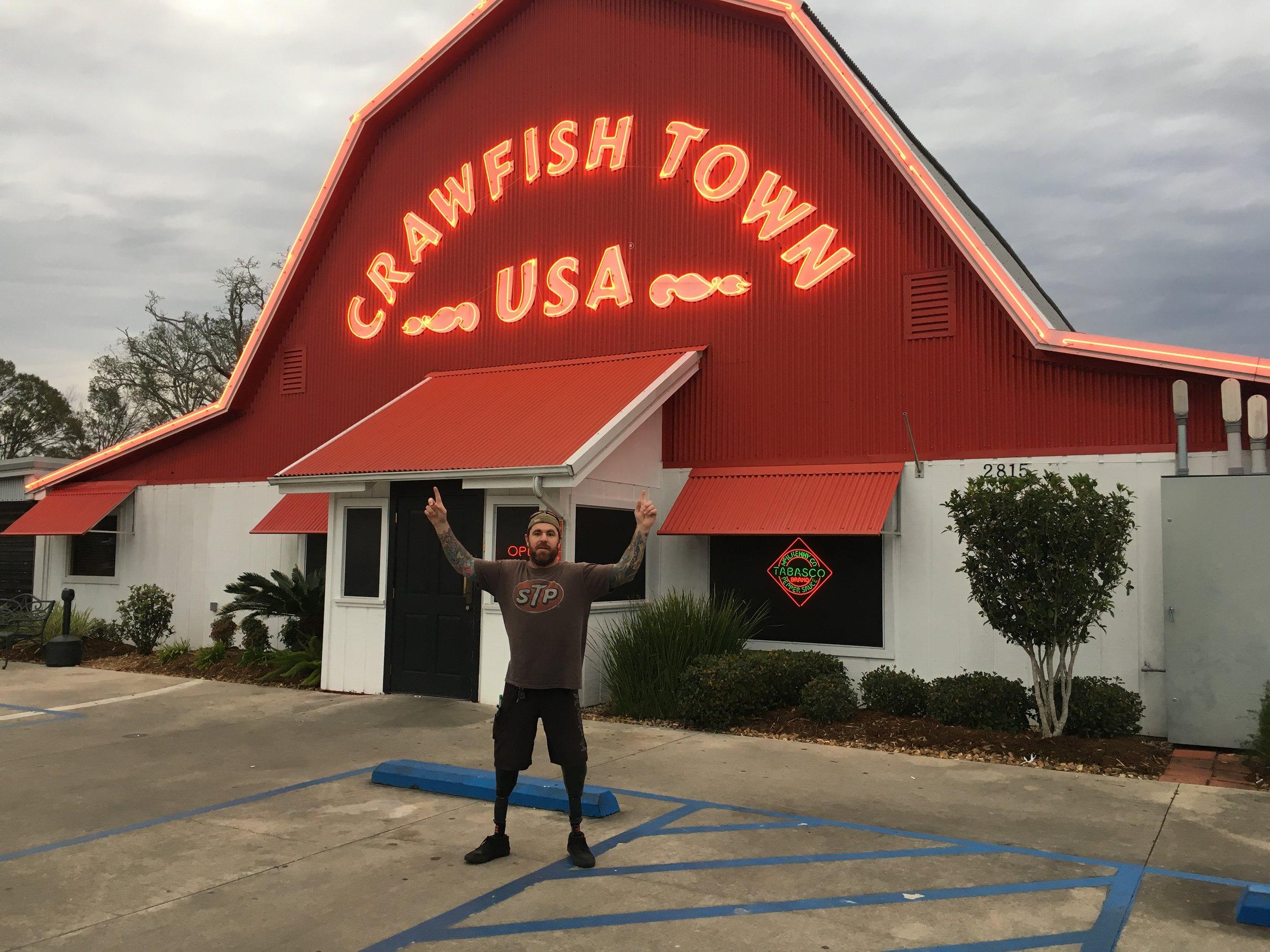 Being a tourist!
