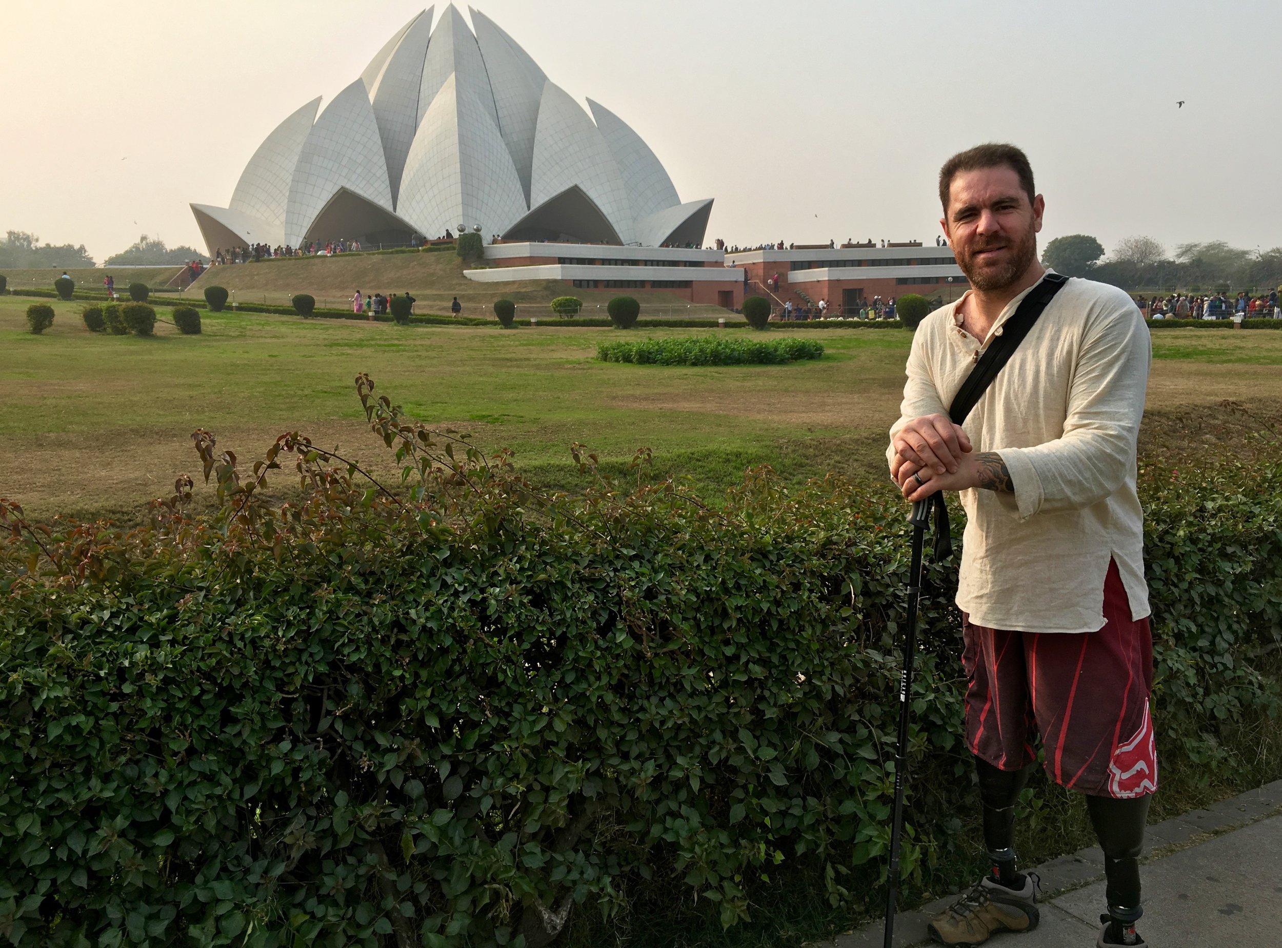 bahai Lotus temple Delhi India