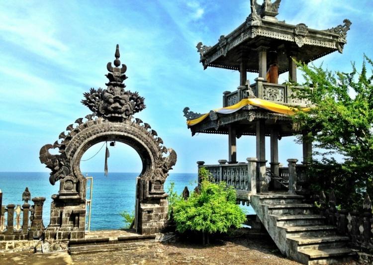 Beautiful temple in Pemuteran, Bali, Indonesia.