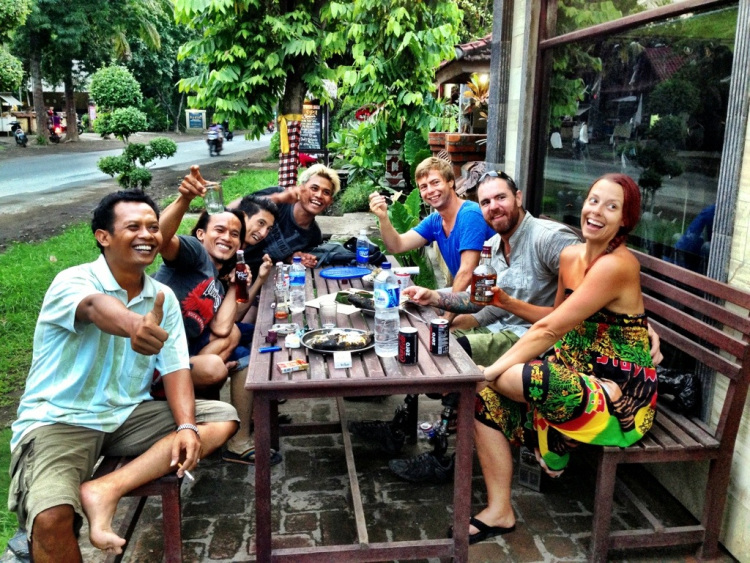 The friendly locals made our time in Pemuteran so incredibly special!