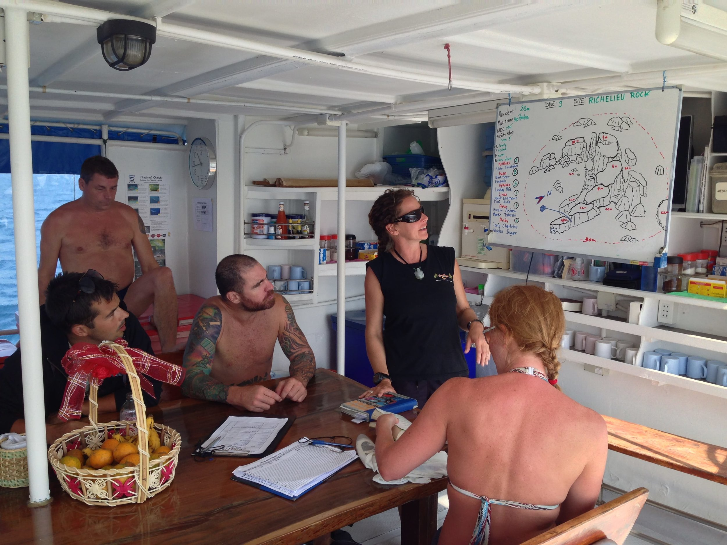 Best SCUBA diving in Thailand. Similan Islands dive sites Thailand. Fener Adventures Budget Travel Tips