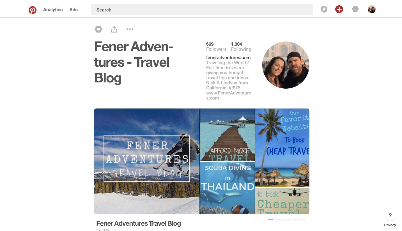 Pinterest Fener Adventures Travel Blog