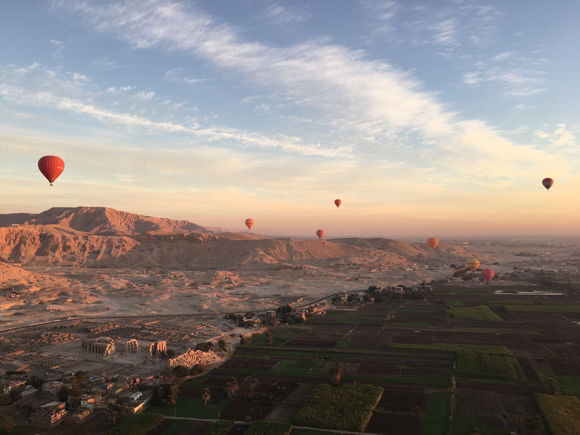 Hot Air Balloon Adventure in Luxor Egypt - Things to do in Luxor - Best Adventures in Egypt