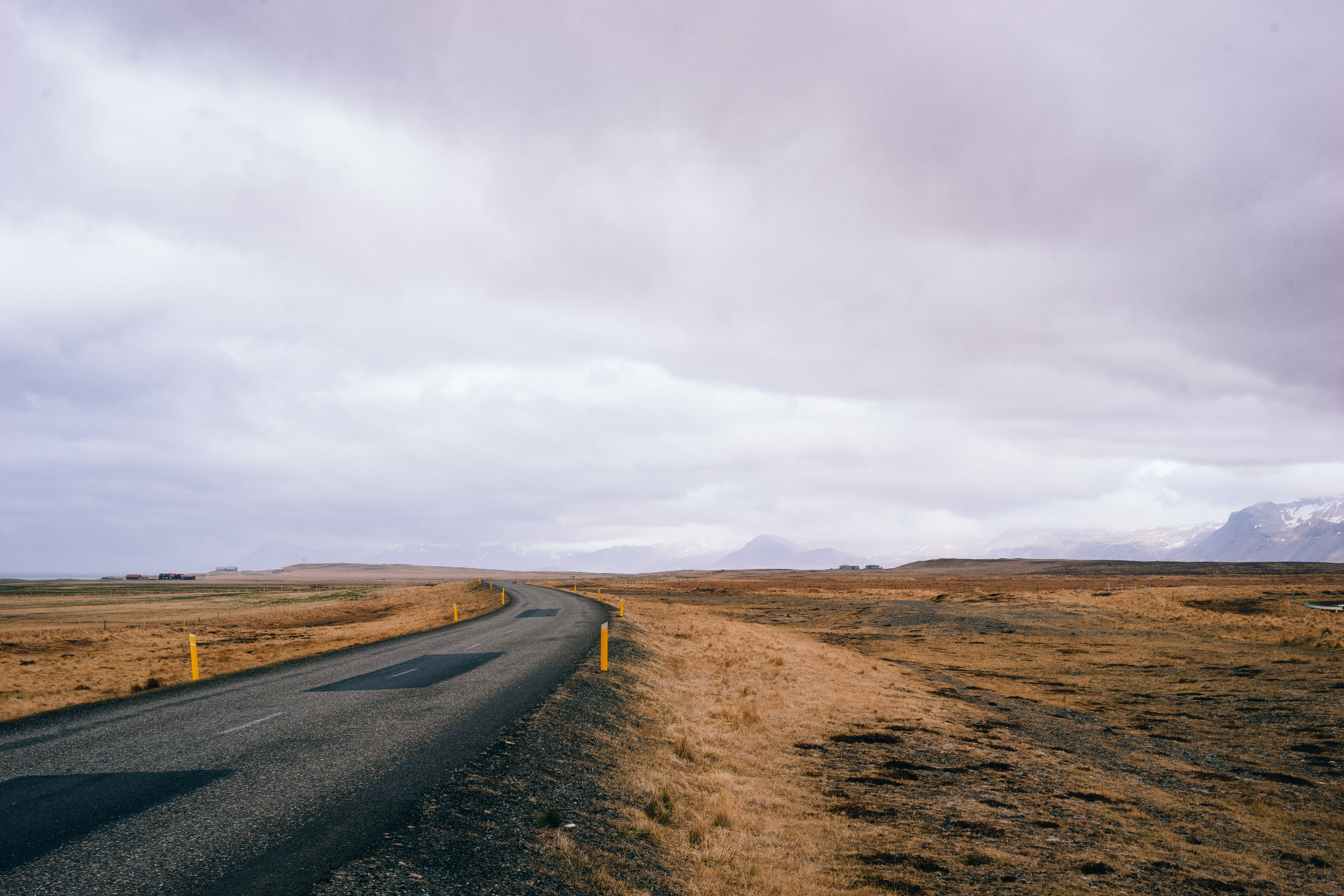 Your average Icelandic road.