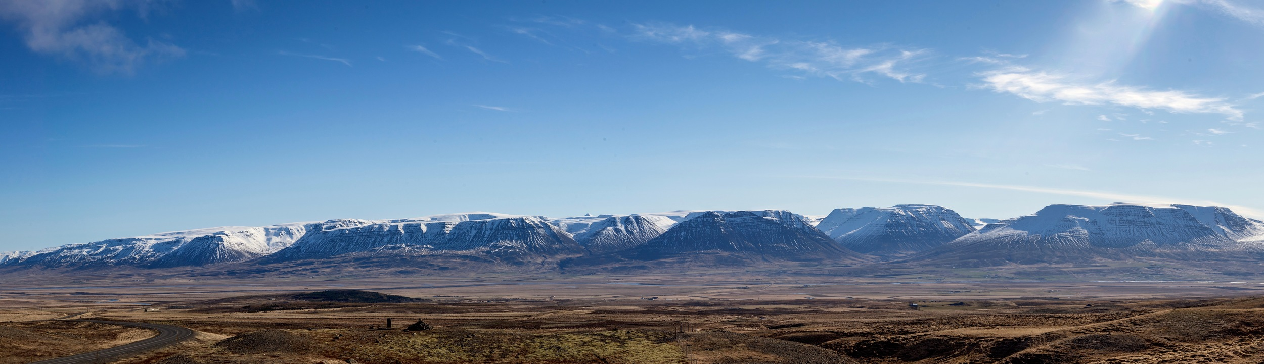 Endless mountains.