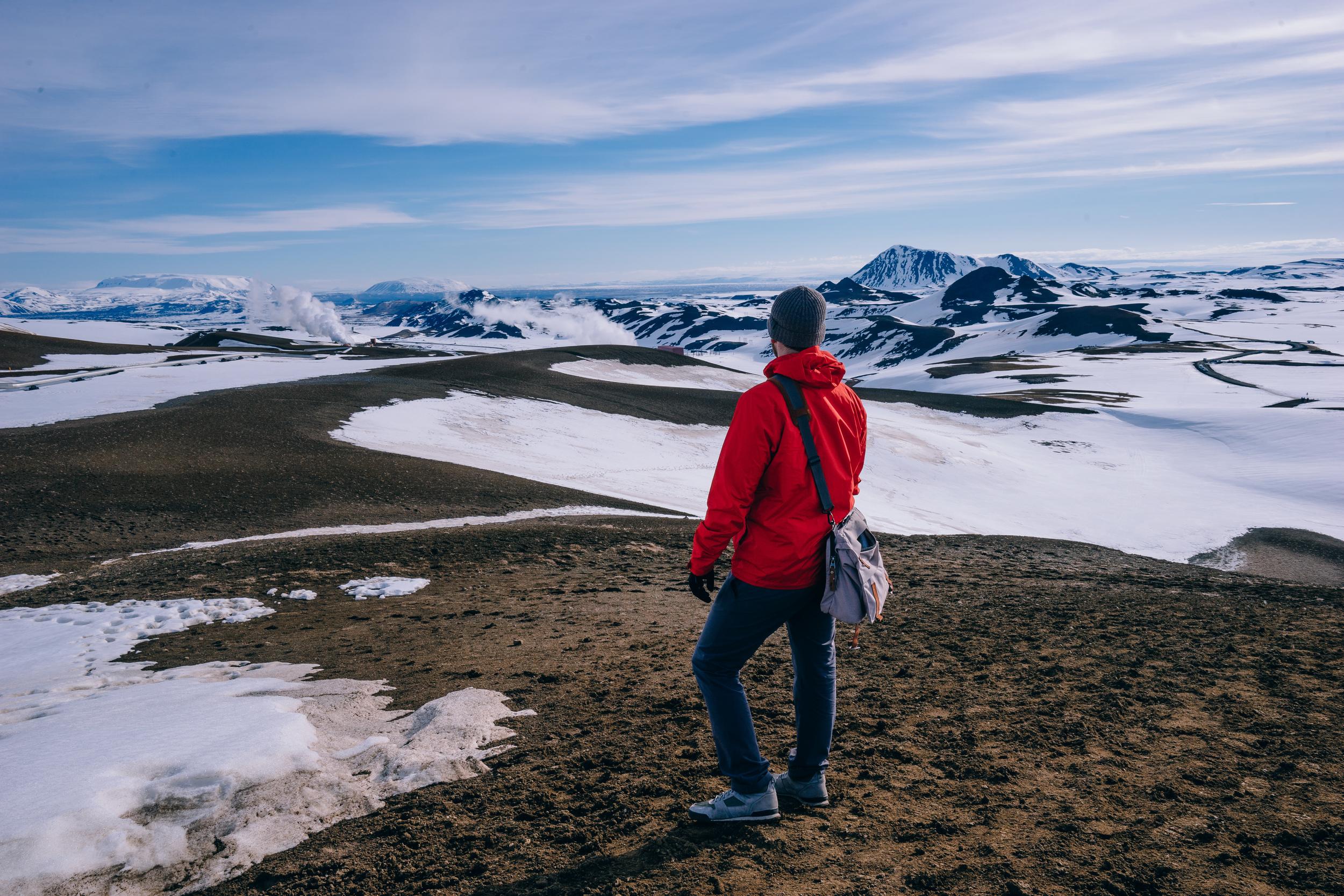 Top of Viti Crater.