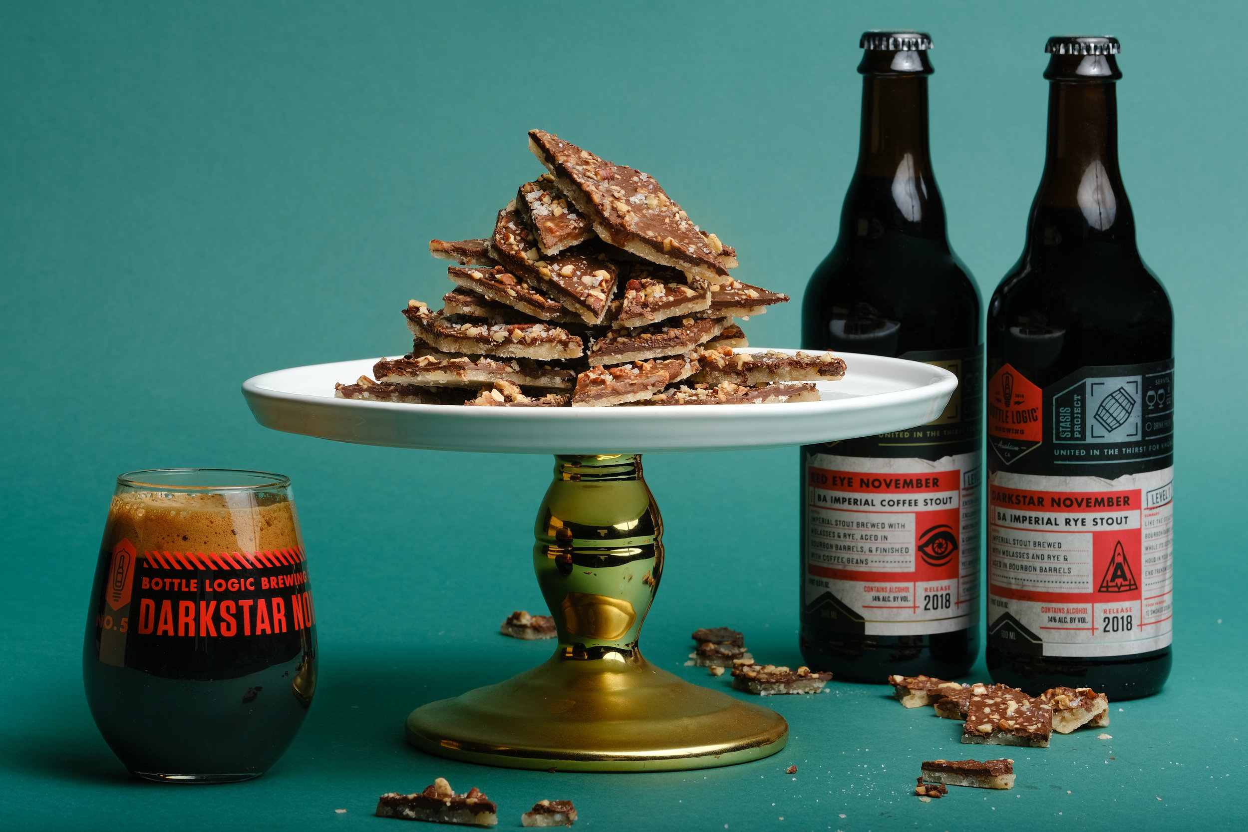 Darkstar November & English Toffee