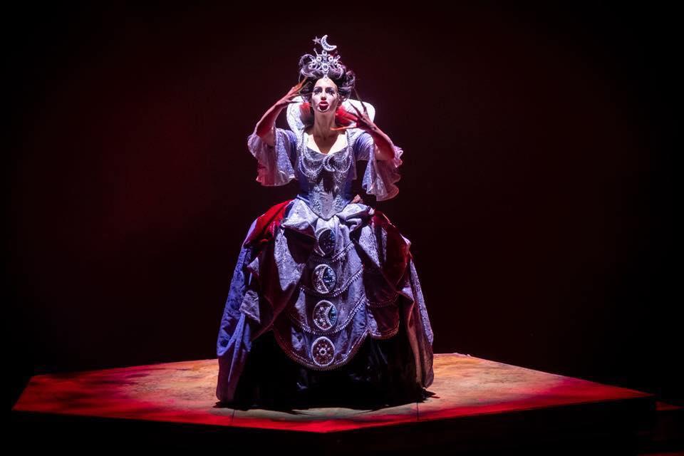 Königin der Nacht, Die Zauberflöte  production: James Marvel