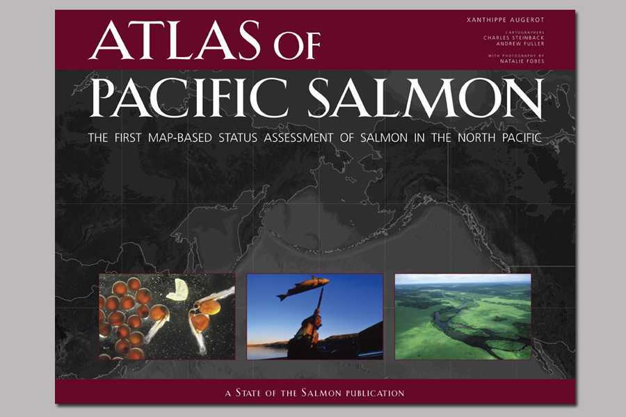 Researched Natalie Fobes' (fobesphoto.com) extensive library of salmon imagery for 'The Atlas of Pacific Salmon' (University of California Press). Accuracy as well as beautiful imagery were key to the success of this project.