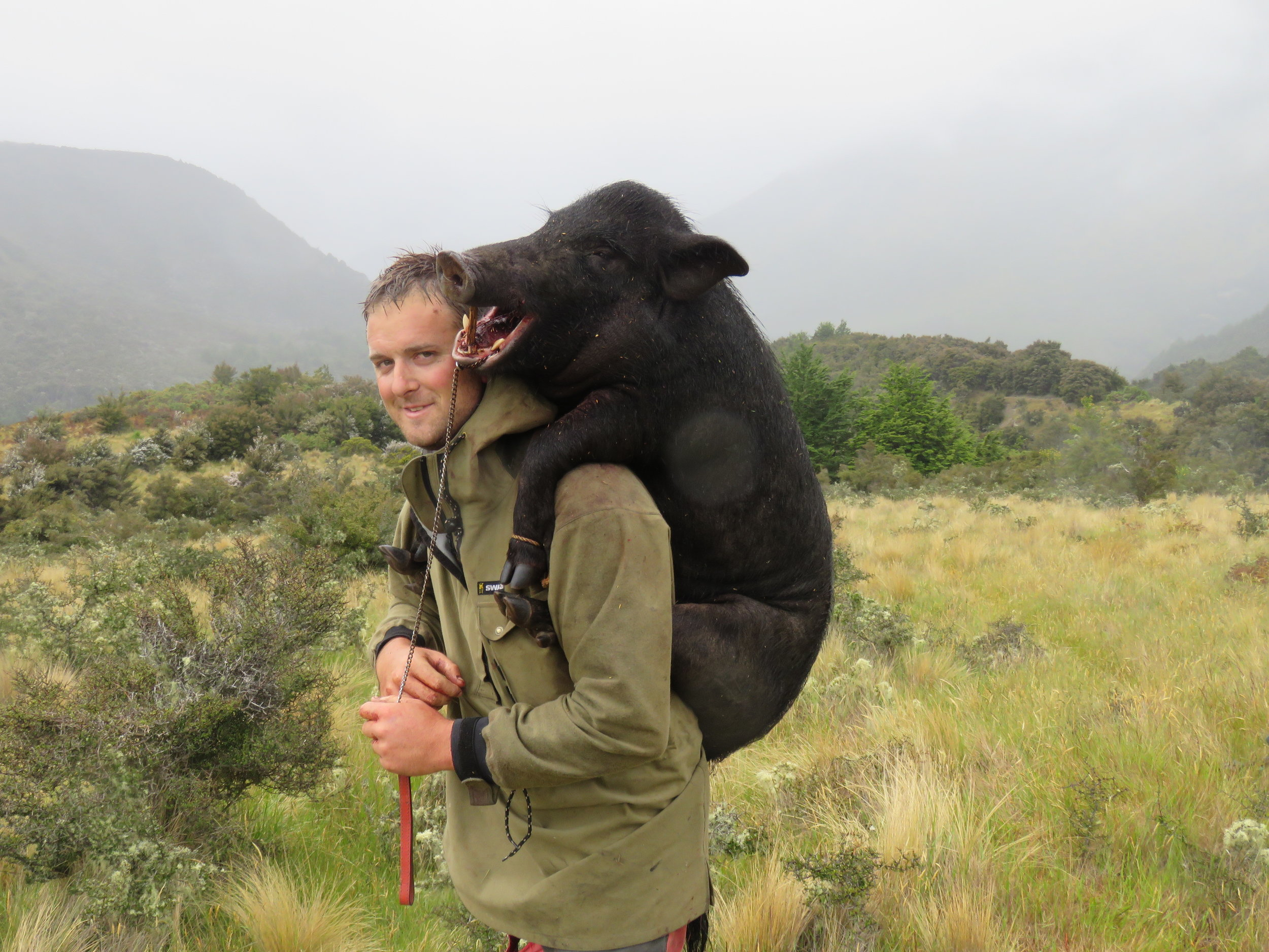 The Swazi Tahr anorak was a definite game changer in hunting apparel.