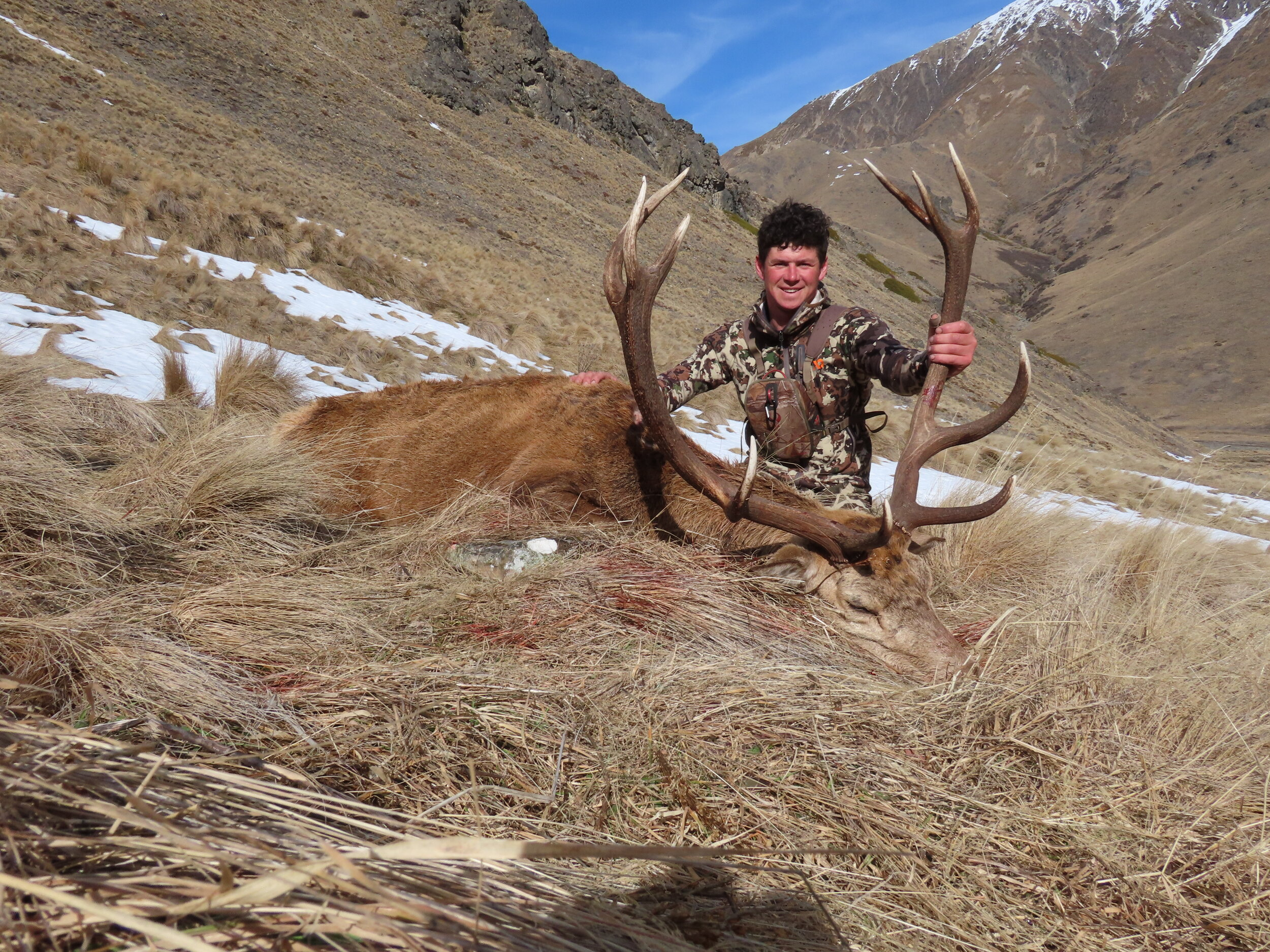 big wild redstag and first lite clothing