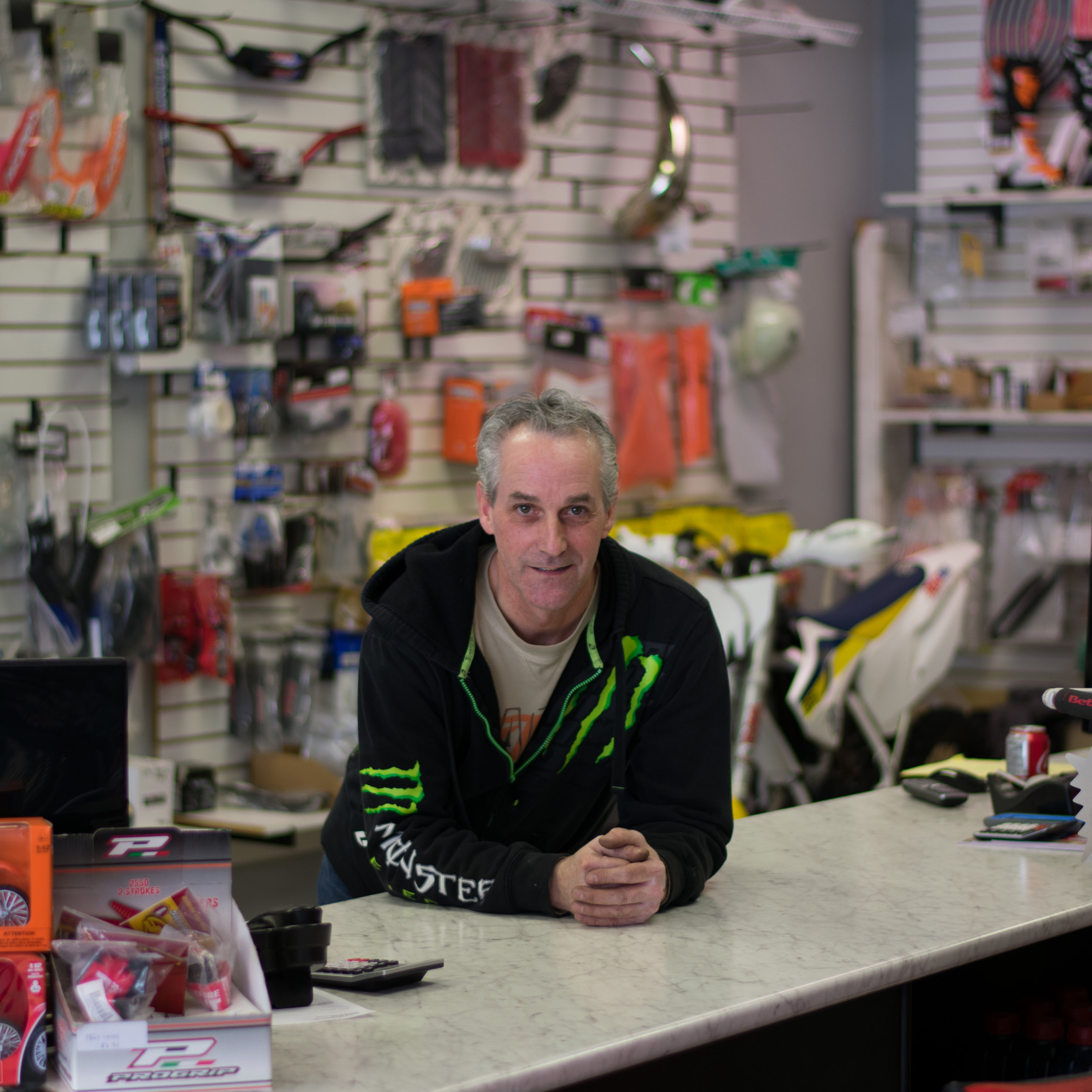 Clay Hunter - Co-Owner - Parts and Service Manager