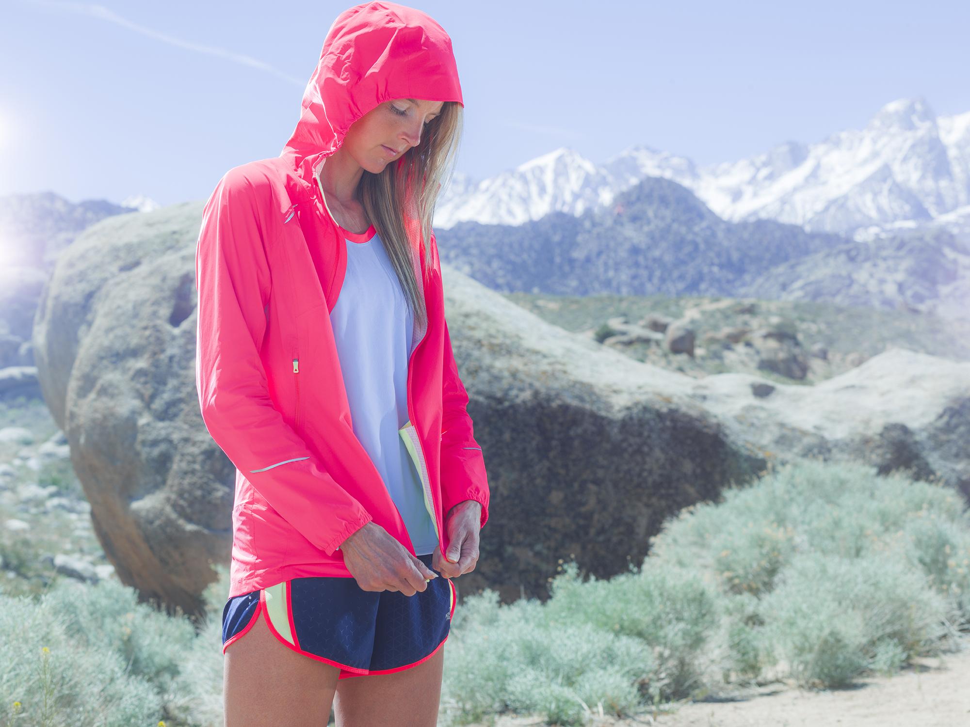 Stephanie Howe. Sierra Nevada, CA. Photography by Tim Kemple.