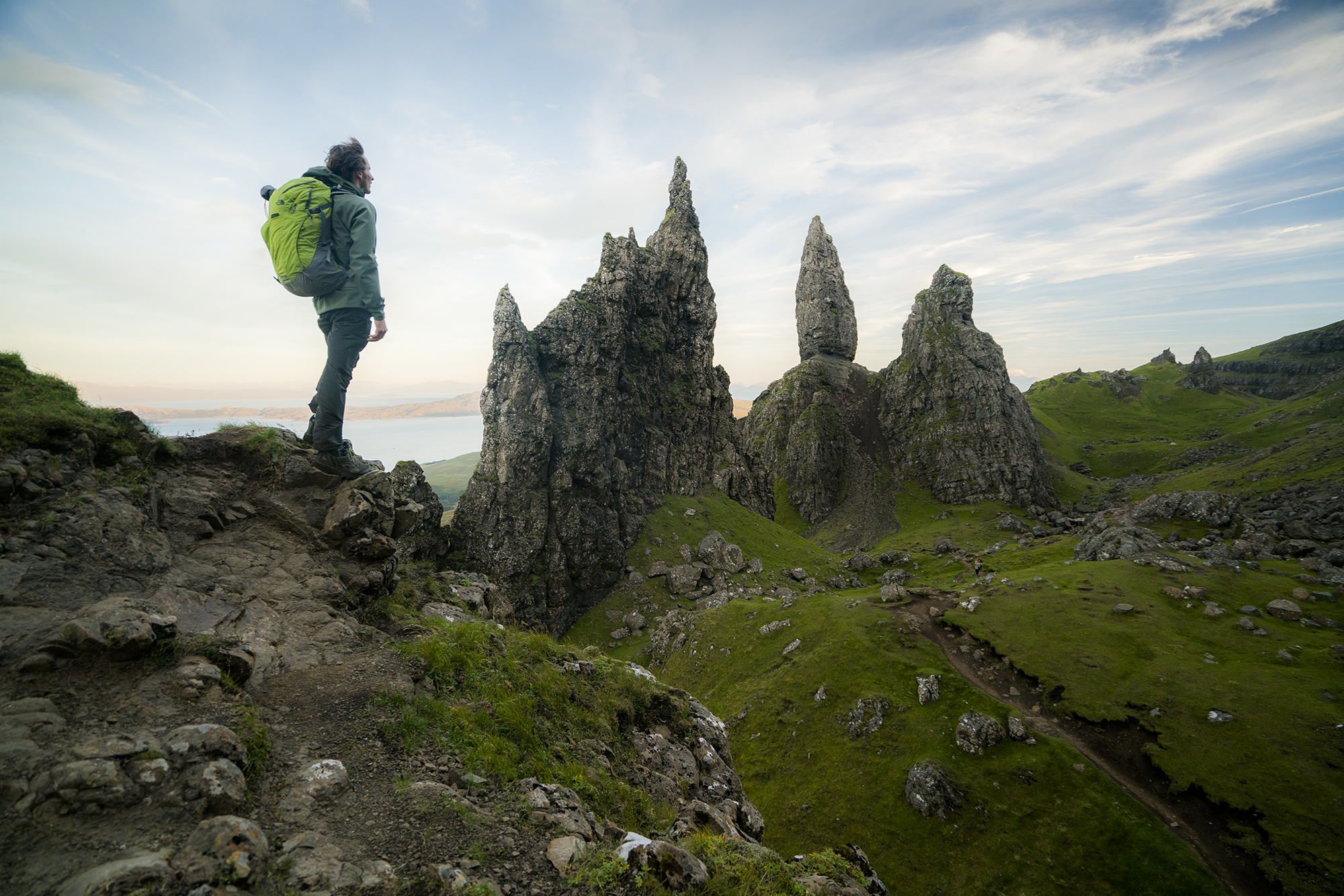 Daniel Woods. Isle Of Skye, Scotland. Photography by Chris Burkard.
