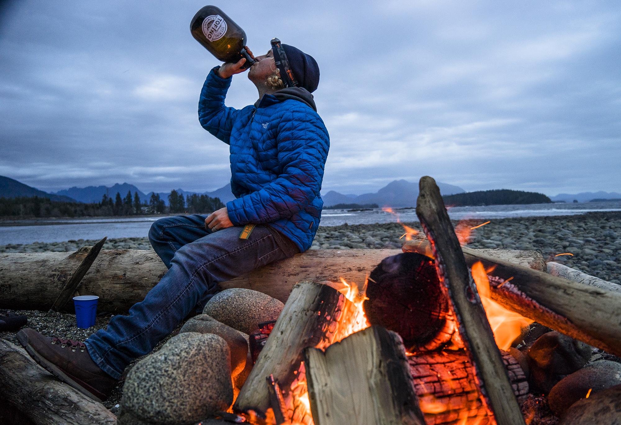 David Carrier Porcheron. Vancouver Island, British Columbia. Photography by Chris Burkard.
