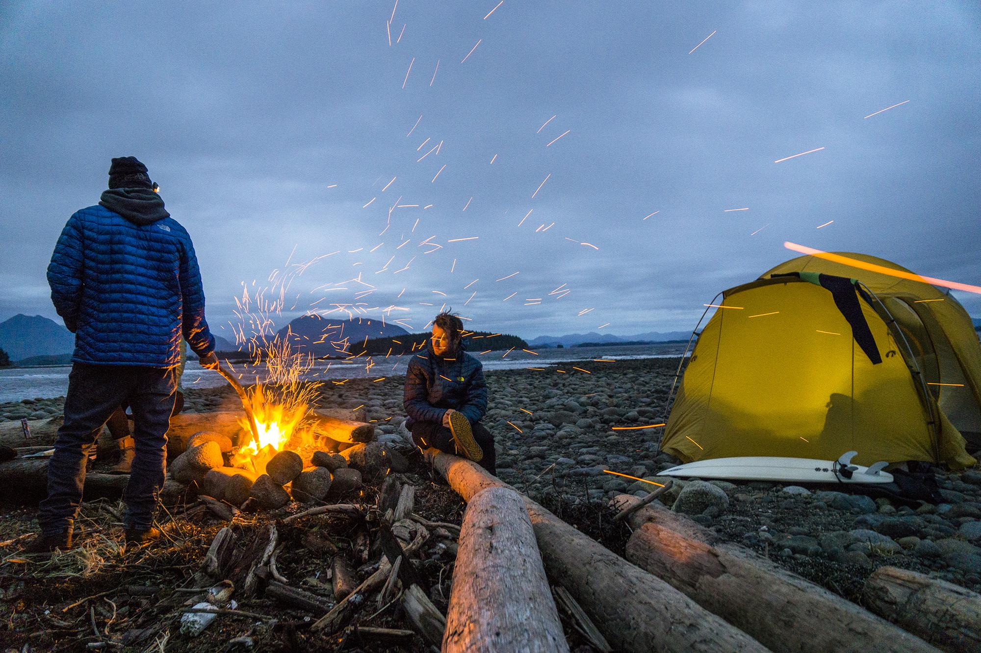 David Carrier Porcheron and Callum Pettit. Vancouver Island, British Columbia. Photography by Chris Burkard.
