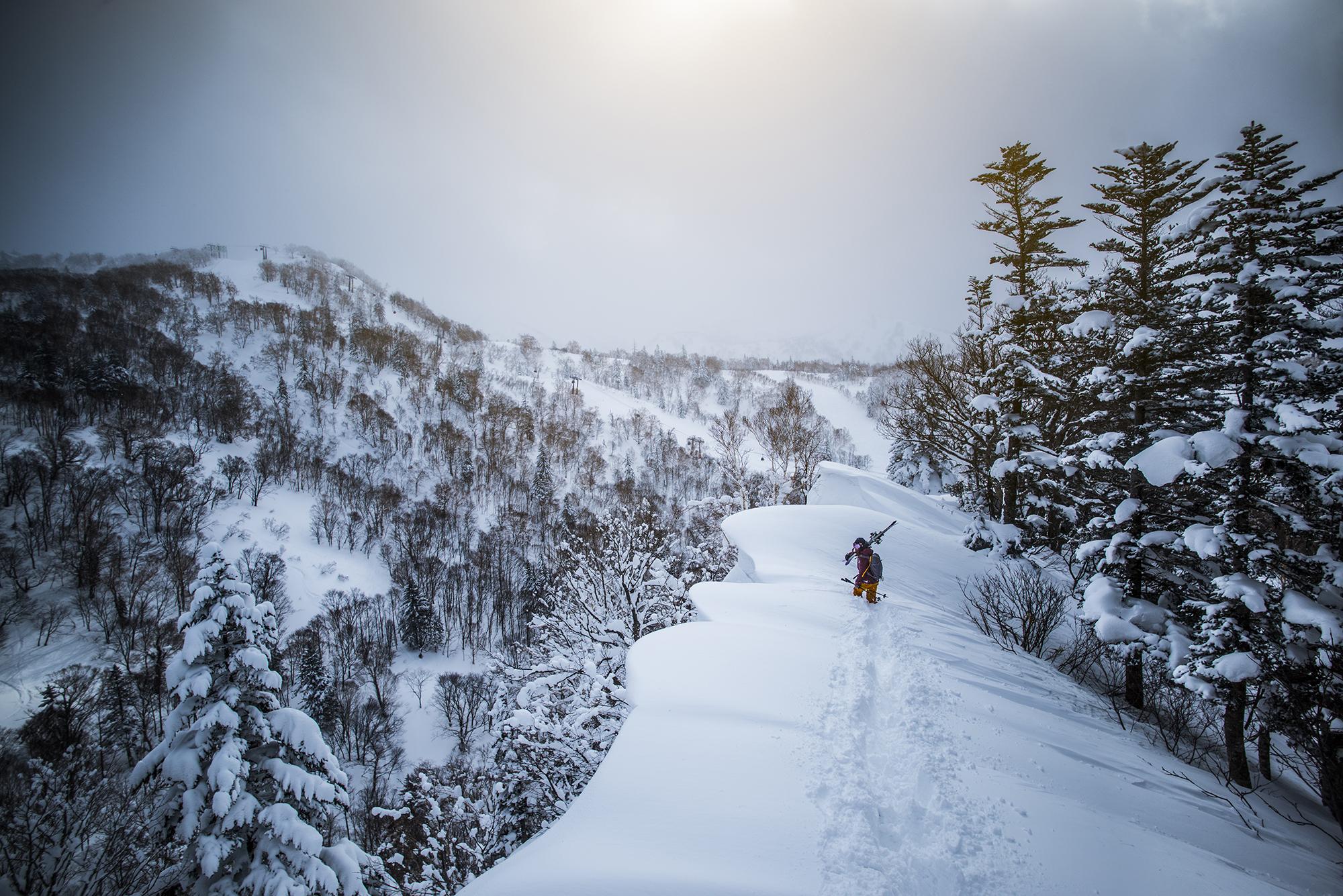 Tatum Monod. Mt Eboshi, Hokkaido Japan. Photography by Tim Kemple.