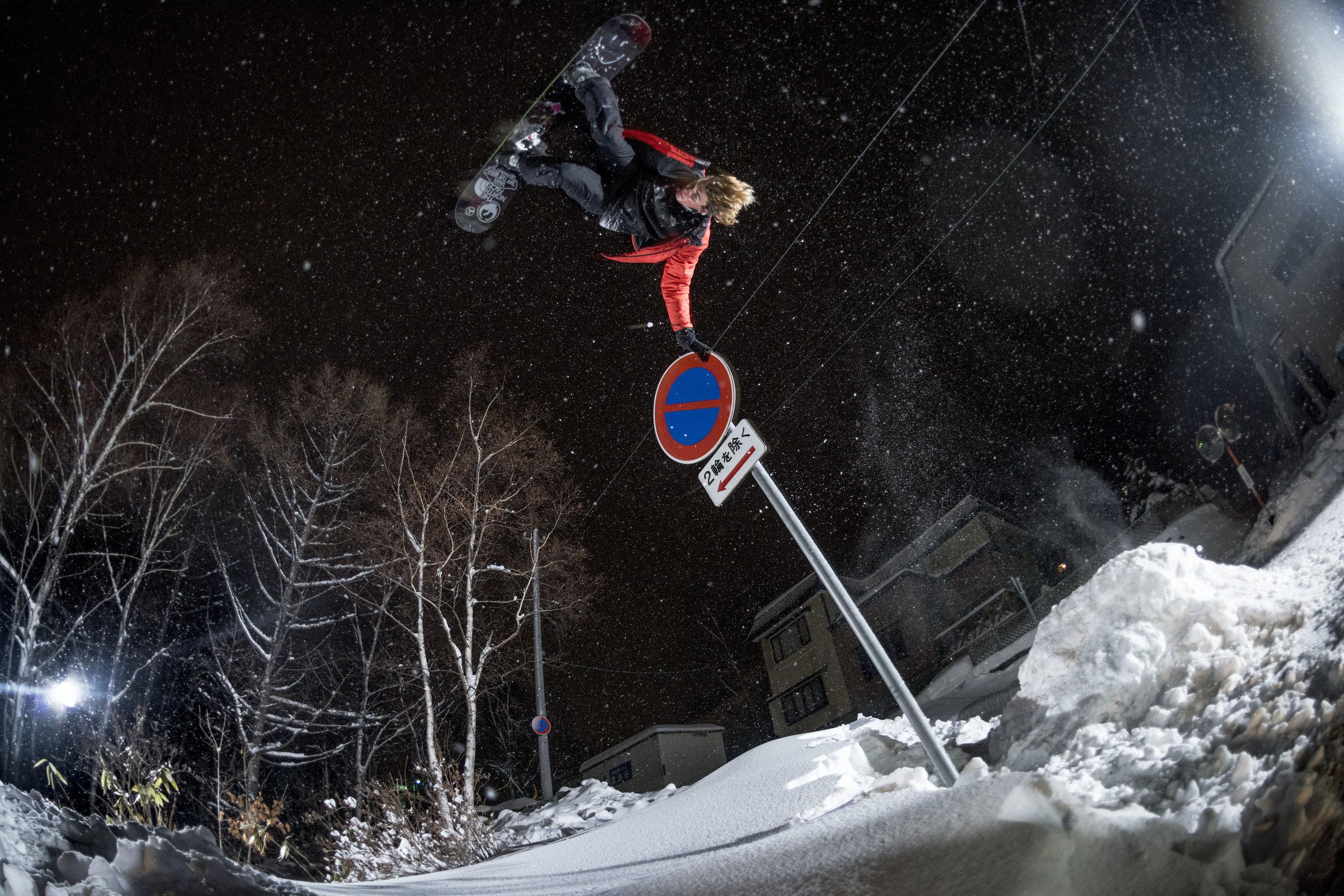 Blake Paul, Hokkaido, Japan. Photography by Tim Kemple.