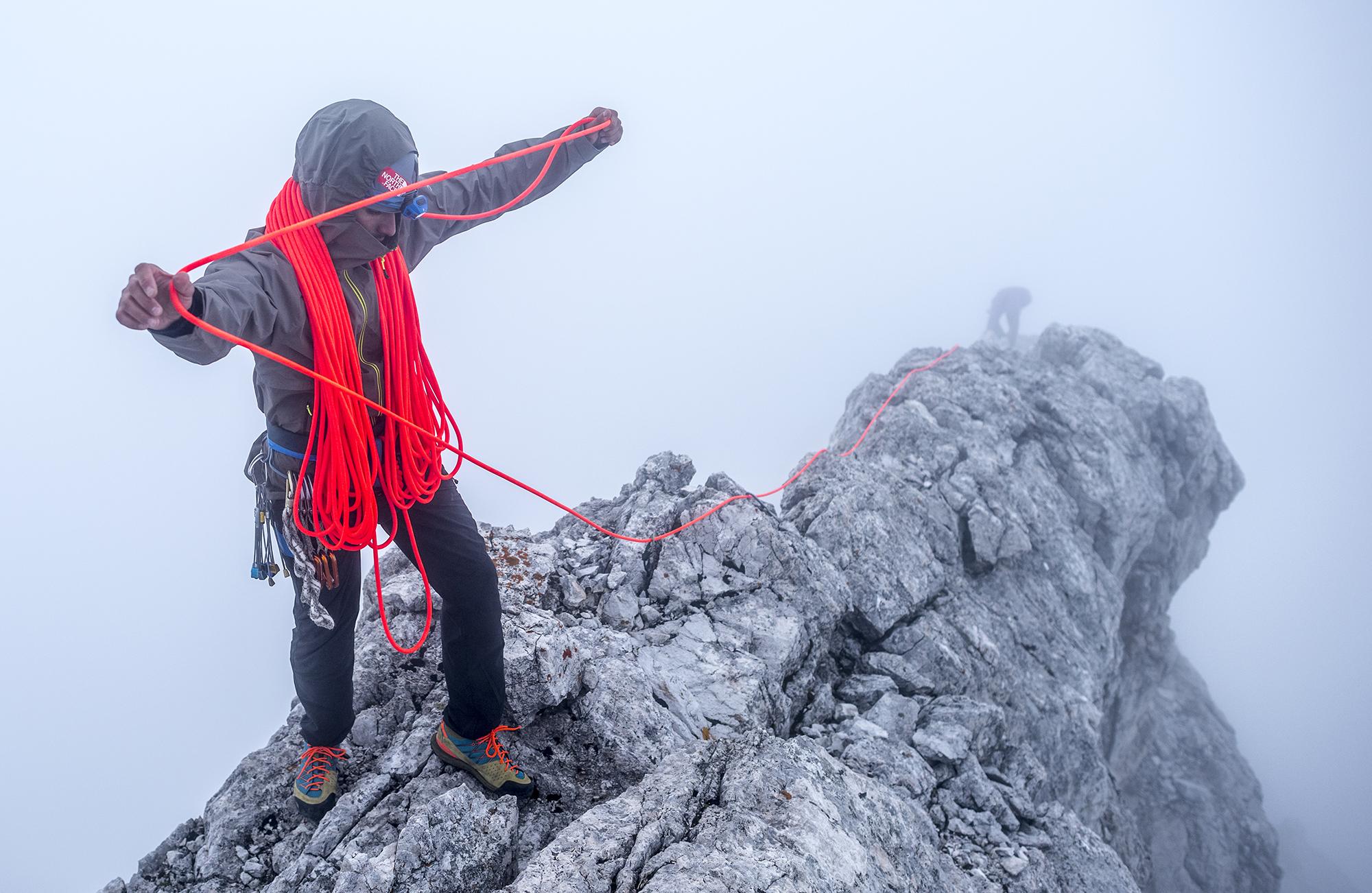 Sam Elias. Dolomites, Tre Cime, Italy. Photography by Tim Kemple.