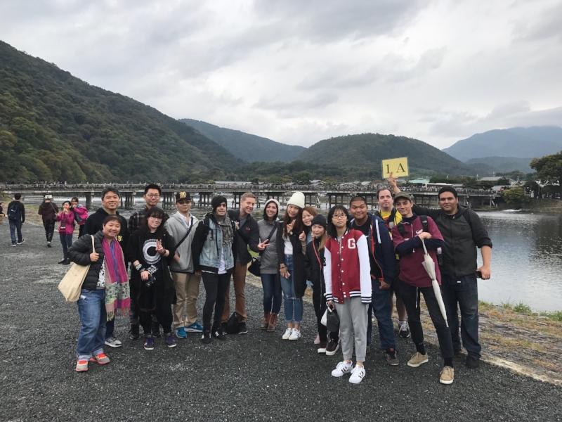 Language class trip to Kyoto
