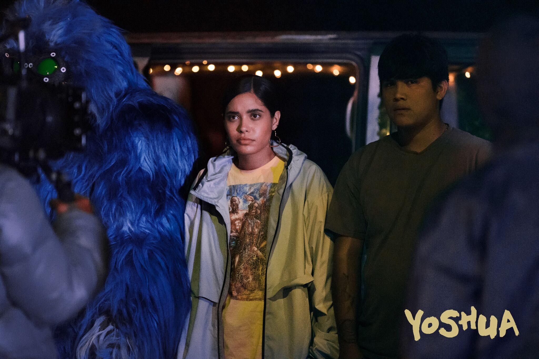 Left to Right: Yoshua (Kim House), Sam (Otmara Merrero), and Francisco (Johnny Ortiz).  Source: Fullscreen and AT&T.