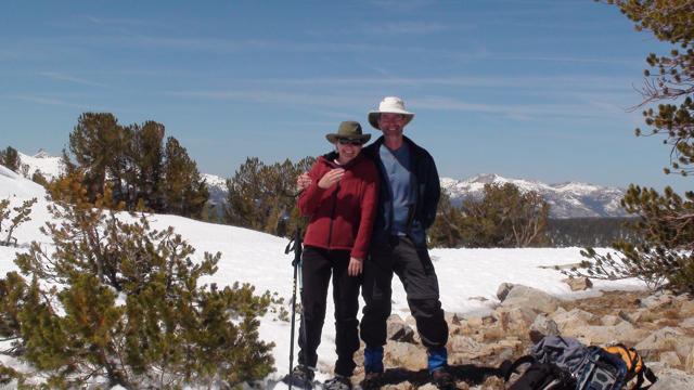 Hikers on Gaylor Ridge