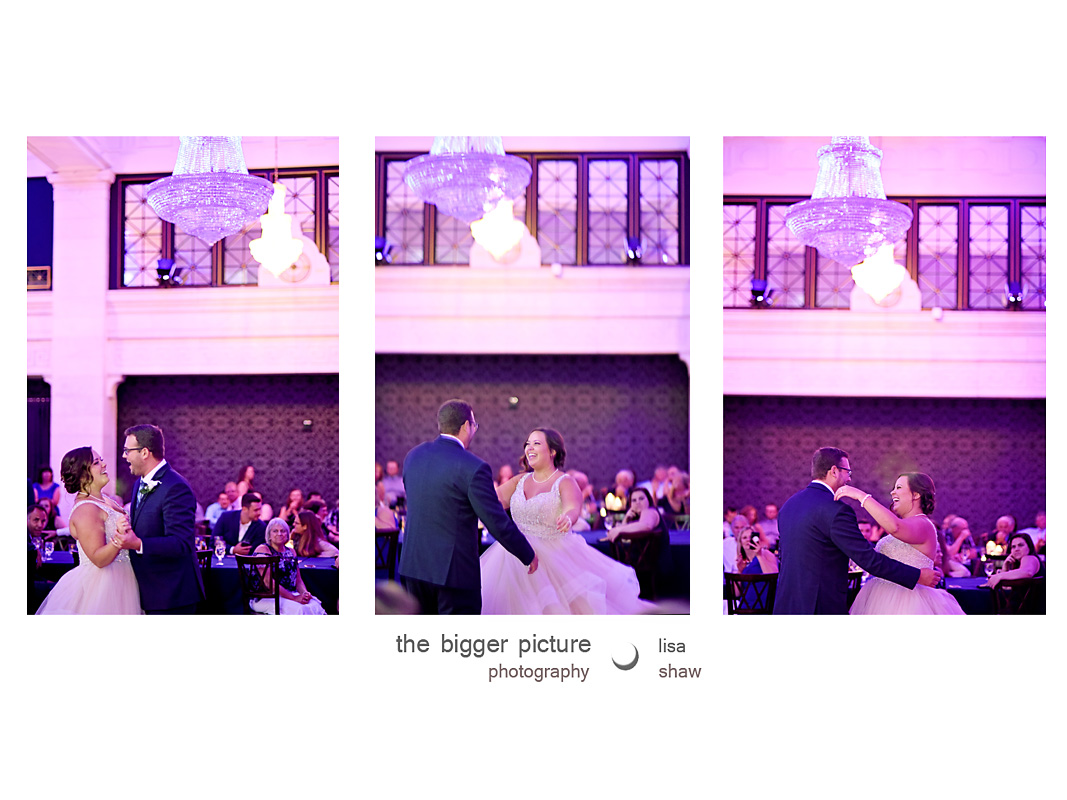 wedding photographer mckay tower ballroom grand rapids mi.jpg