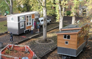 Tiny houses in Portland, Oregon