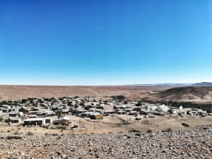 The town of Kuboes in the heart of the Northern Karoo Desert