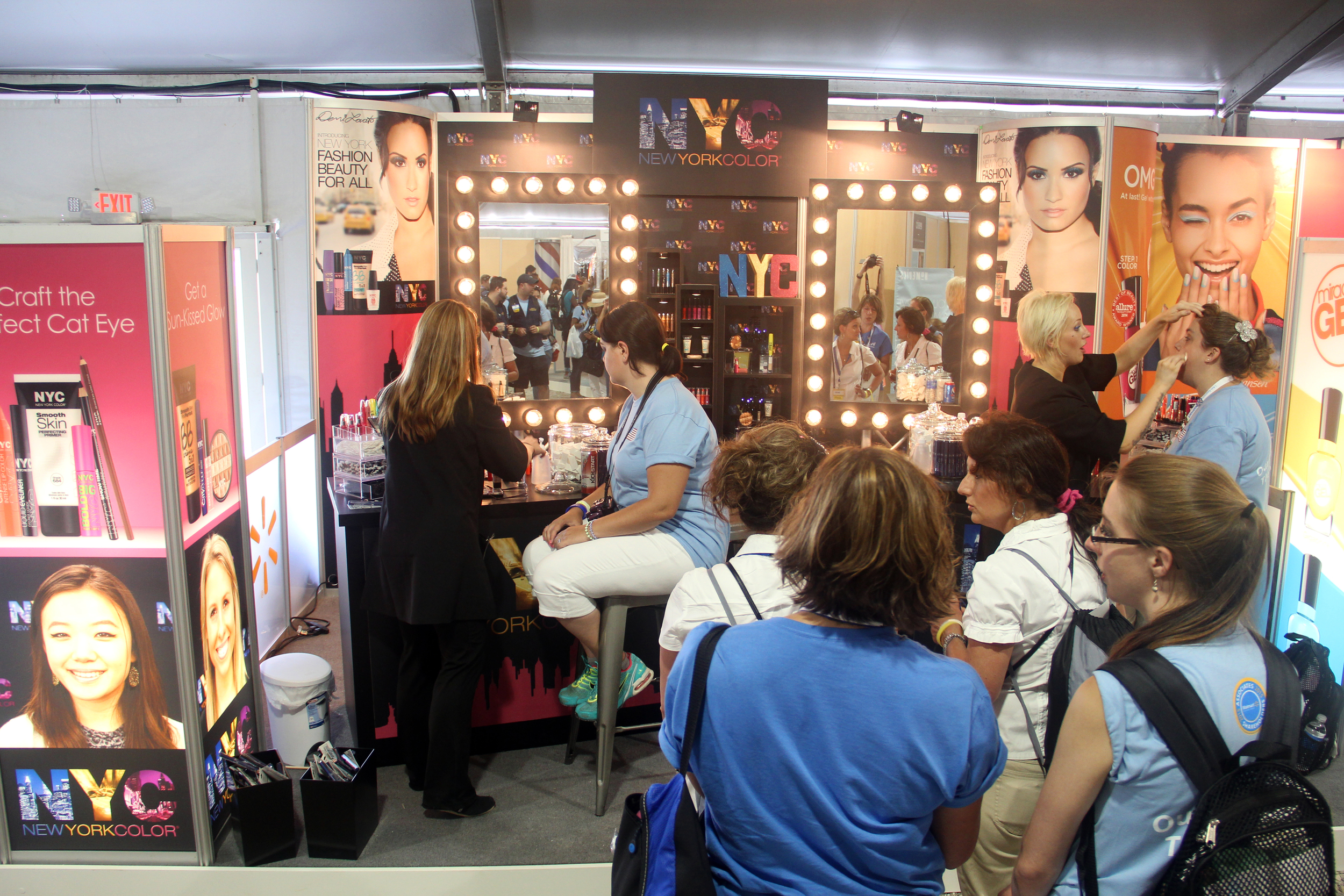 NYC Makeup Artists Providing Makeovers