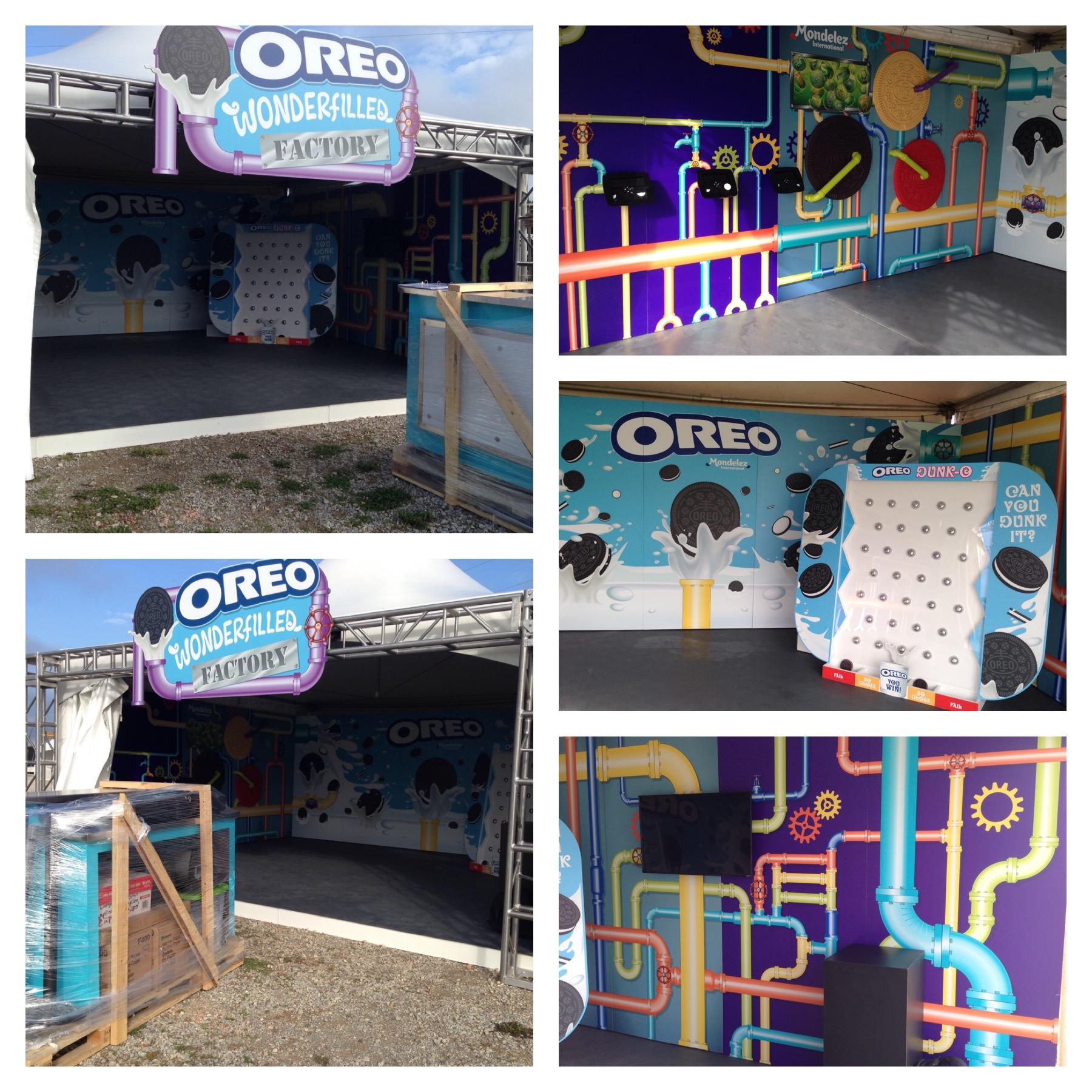 YBM Booth Installation