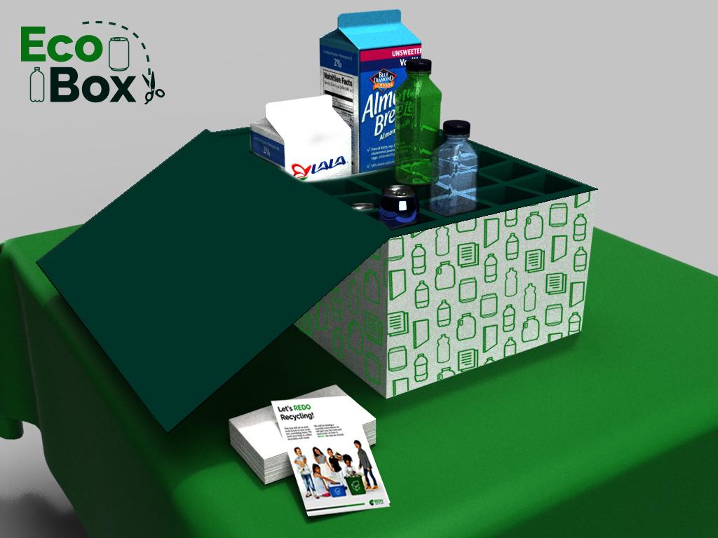 3D Box Render