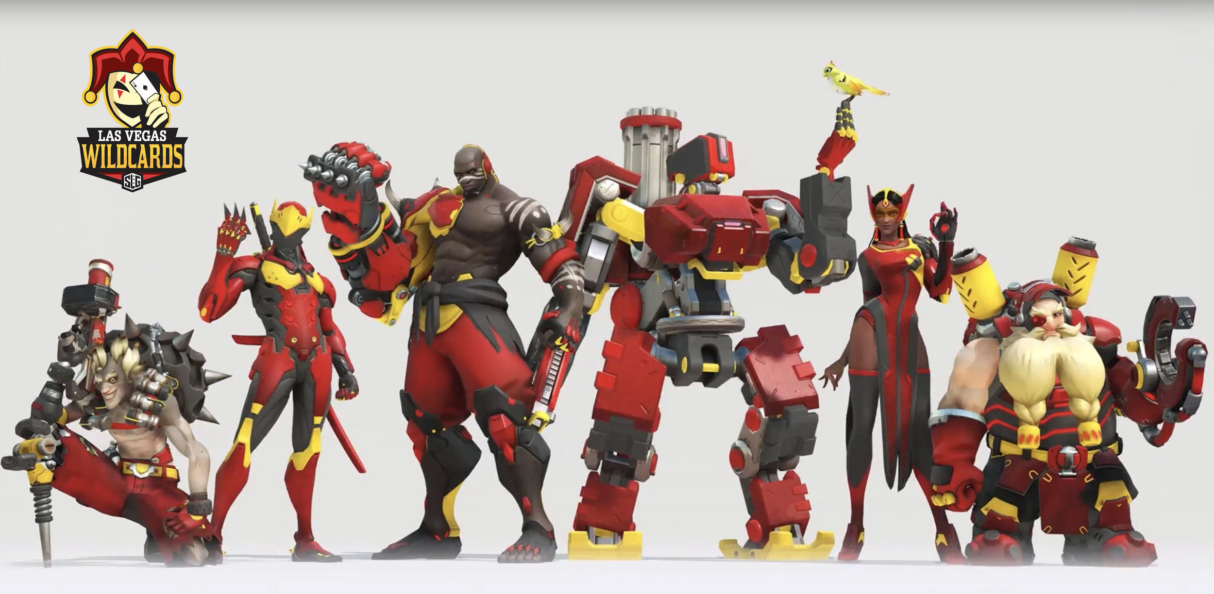 Overwatch Skin for Wild Cards