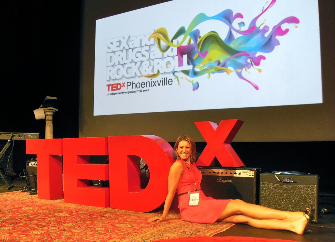 TEDx Talk in Phoenixville on Sex and Shame