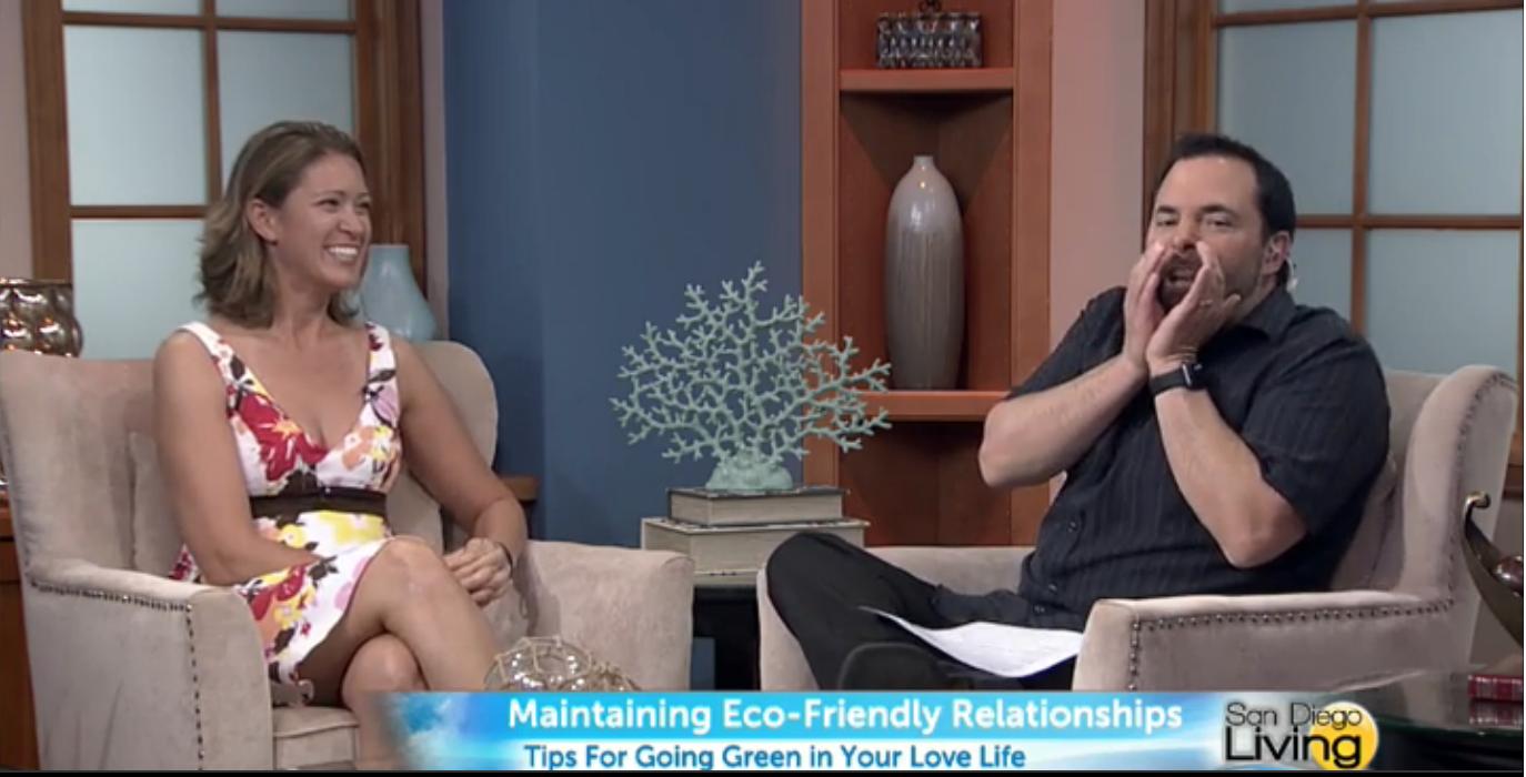 "The ""Sex Whisperer,"" Dr. Jenn Gunsaullus, talking about eco-friendly intimacy on San Diego Living."