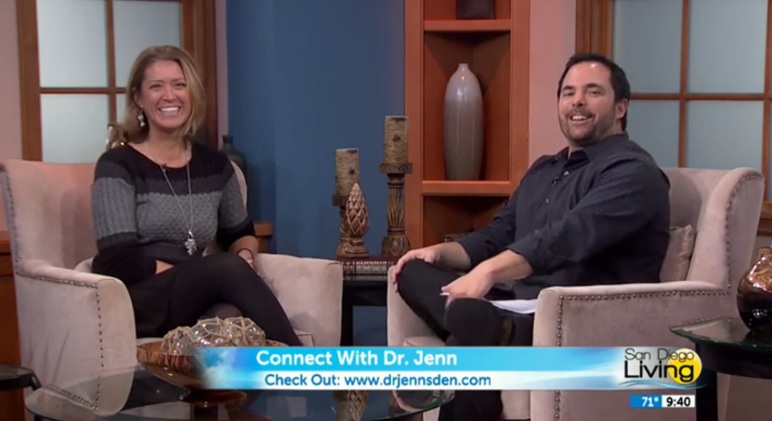 Watch Dr. Jenn Gunsaullus, San Diego Sexologist and Love Doctor, on San Diego Living.