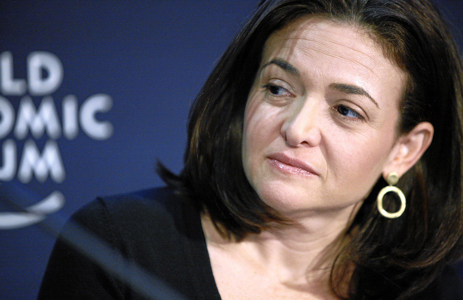 "To ""Lean In"" we need self-compassion. Photo of Sheryl Sandberg: Copyright by World Economic Forum swiss-image.ch/Photo by Jolanda Flubacher"