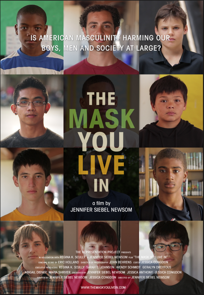 The Mask You Live in Documentary screening in San Diego on the emotional well-being of boys and young men.