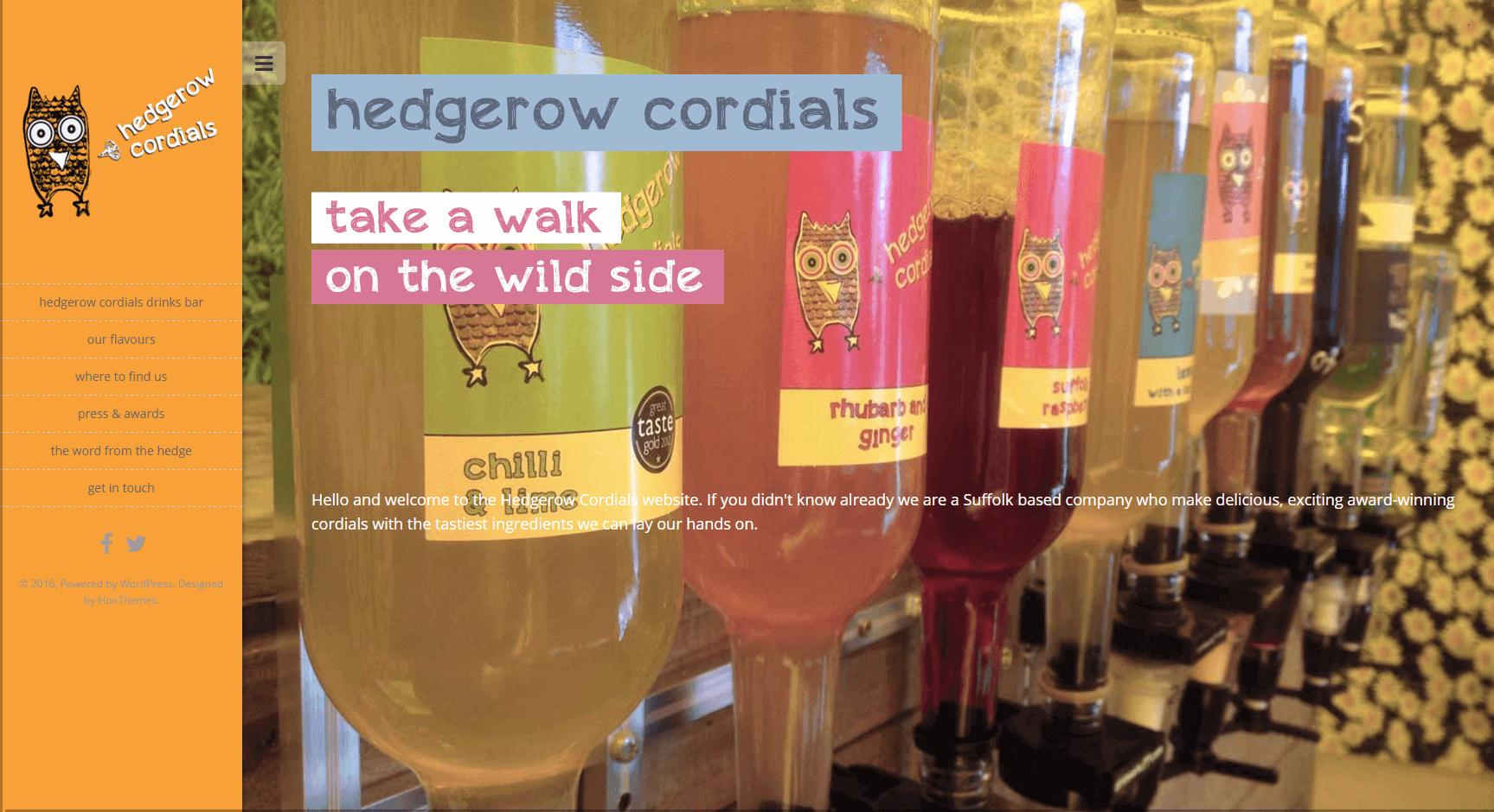 Hedgerow Cordials