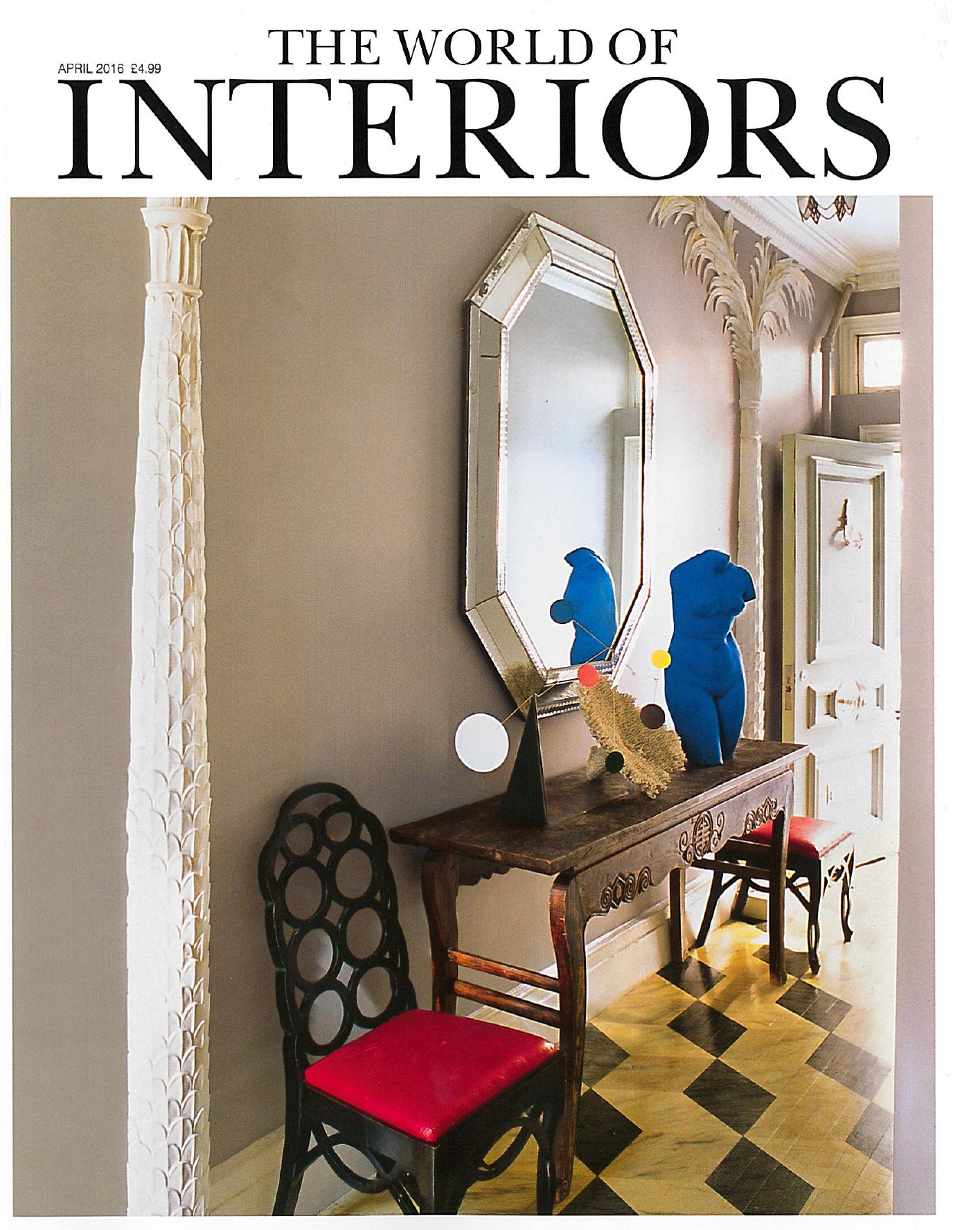 World of Interiors April 16