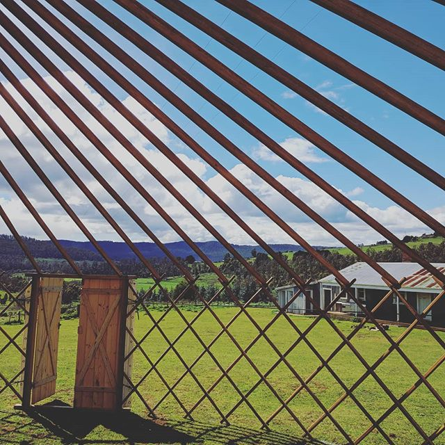 We're back and ready for another season of amazing events in beautiful locations! . . . . . #yurt #taswedding #tasmania #getdownandyurty